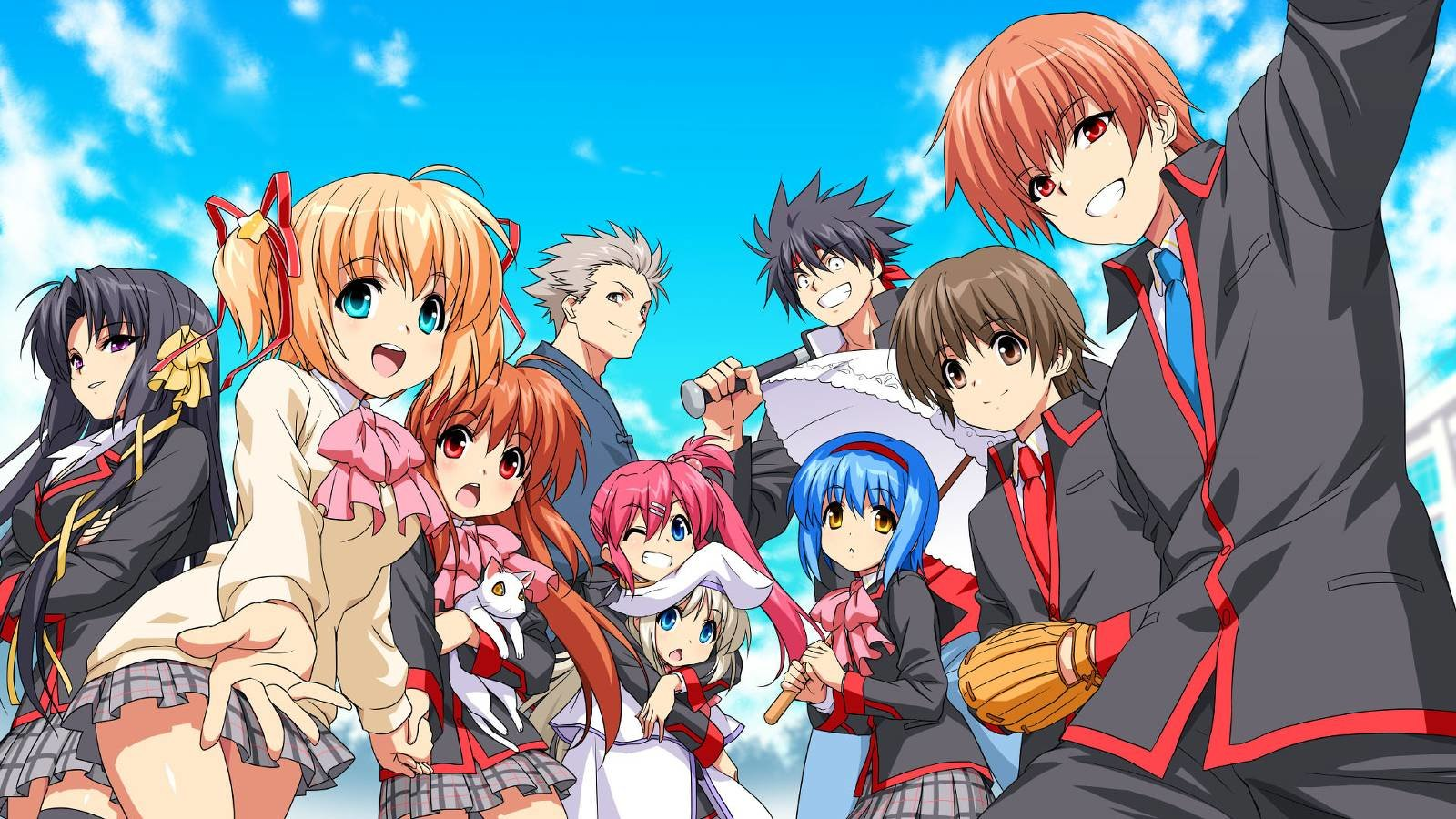 Free Little Busters! high quality background ID:164744 for hd 1600x900 PC