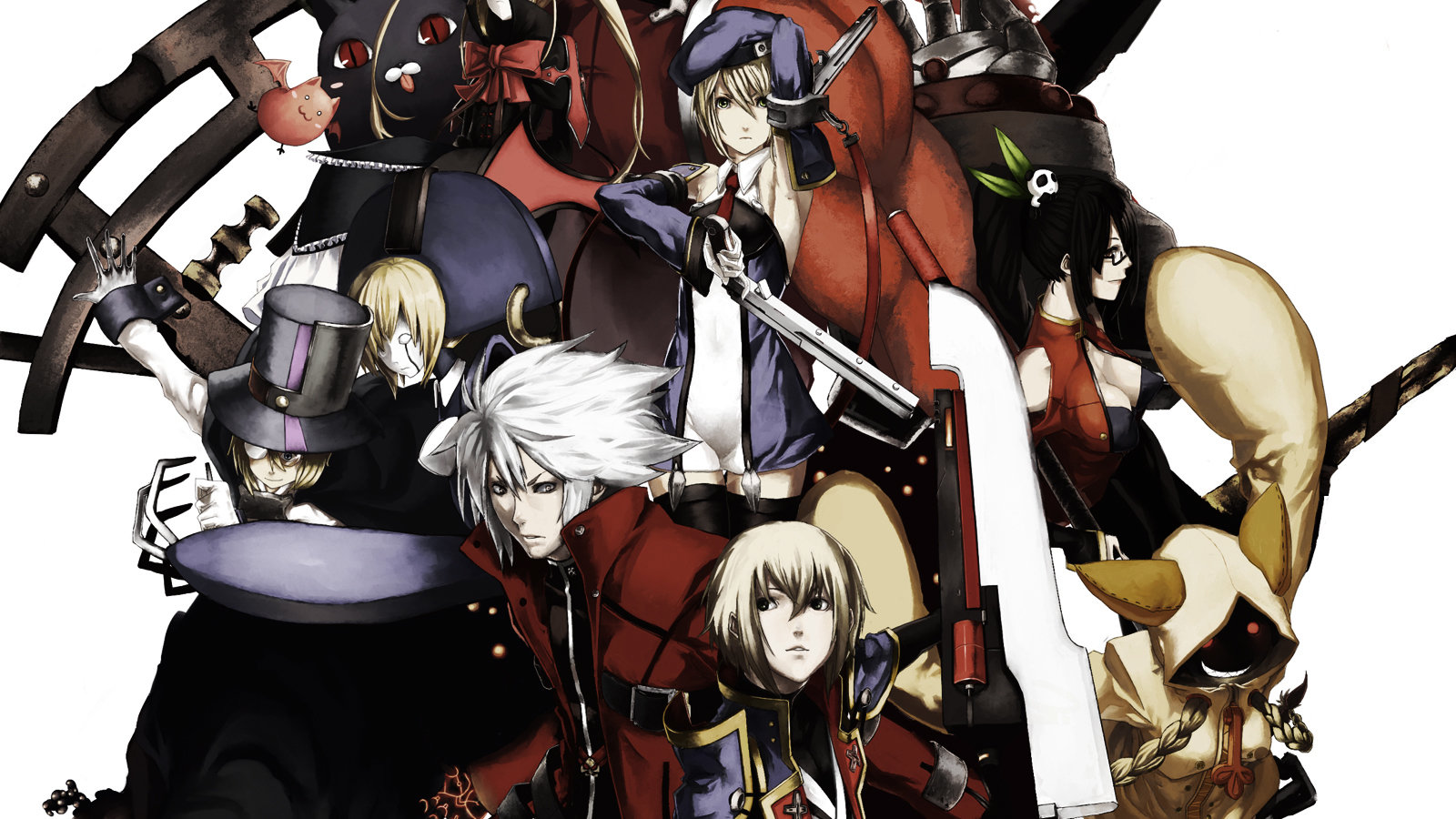 Free Blazblue high quality background ID:75466 for hd 1600x900 desktop