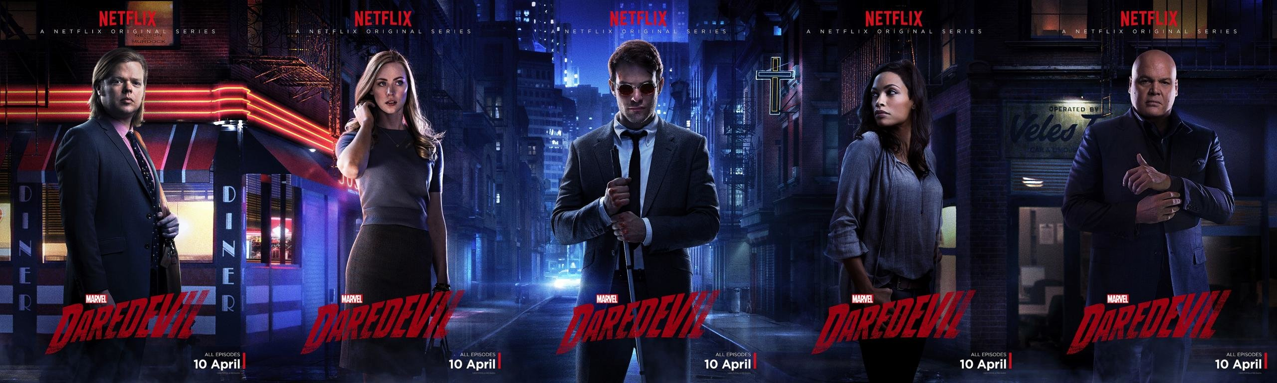 Free download Daredevil TV Show background ID:123171 dual screen 2560x768 for PC
