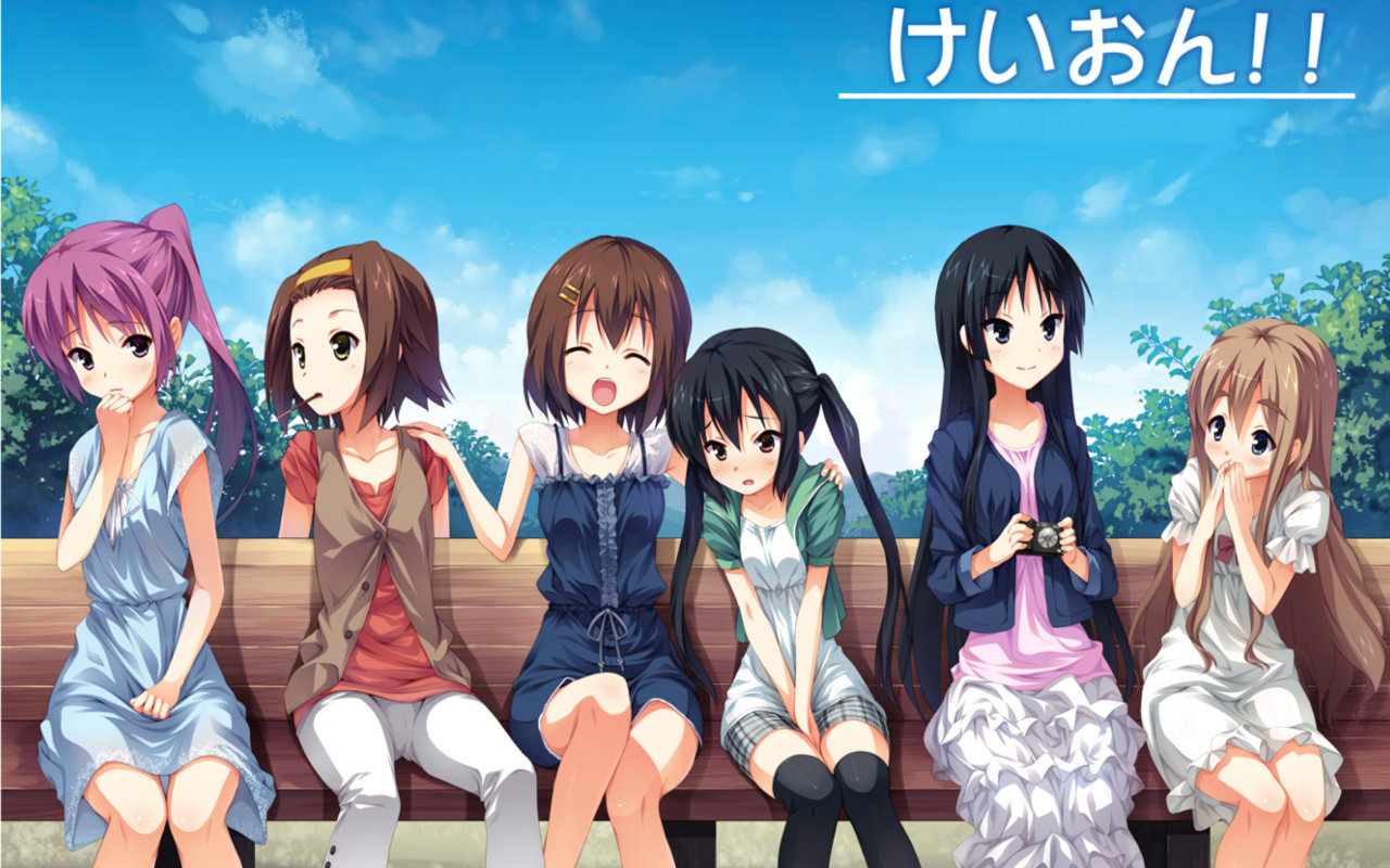 Free download K-ON! background ID:212508 hd 1280x800 for computer