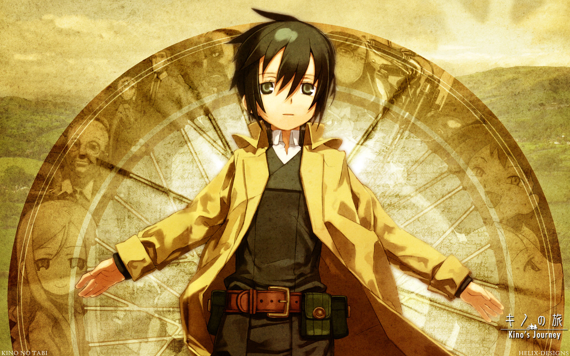 Awesome Kino's Journey free wallpaper ID:326600 for hd 1920x1200 PC