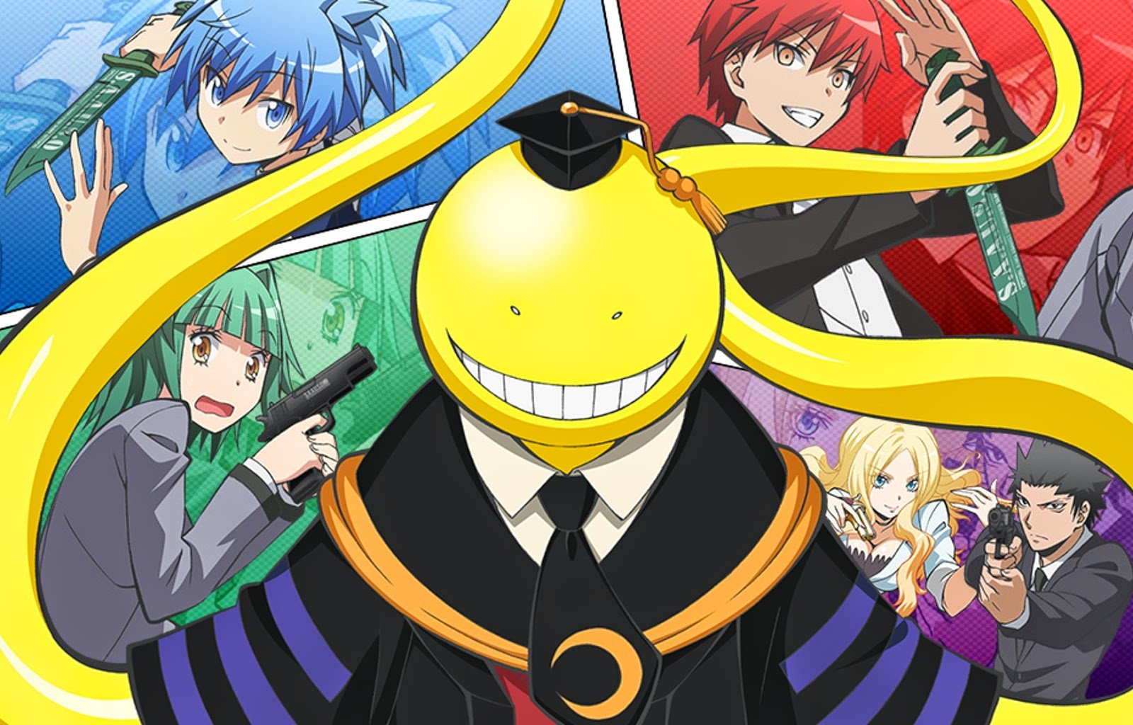 High resolution Assassination Classroom hd 1600x1024 wallpaper ID:275117 for PC
