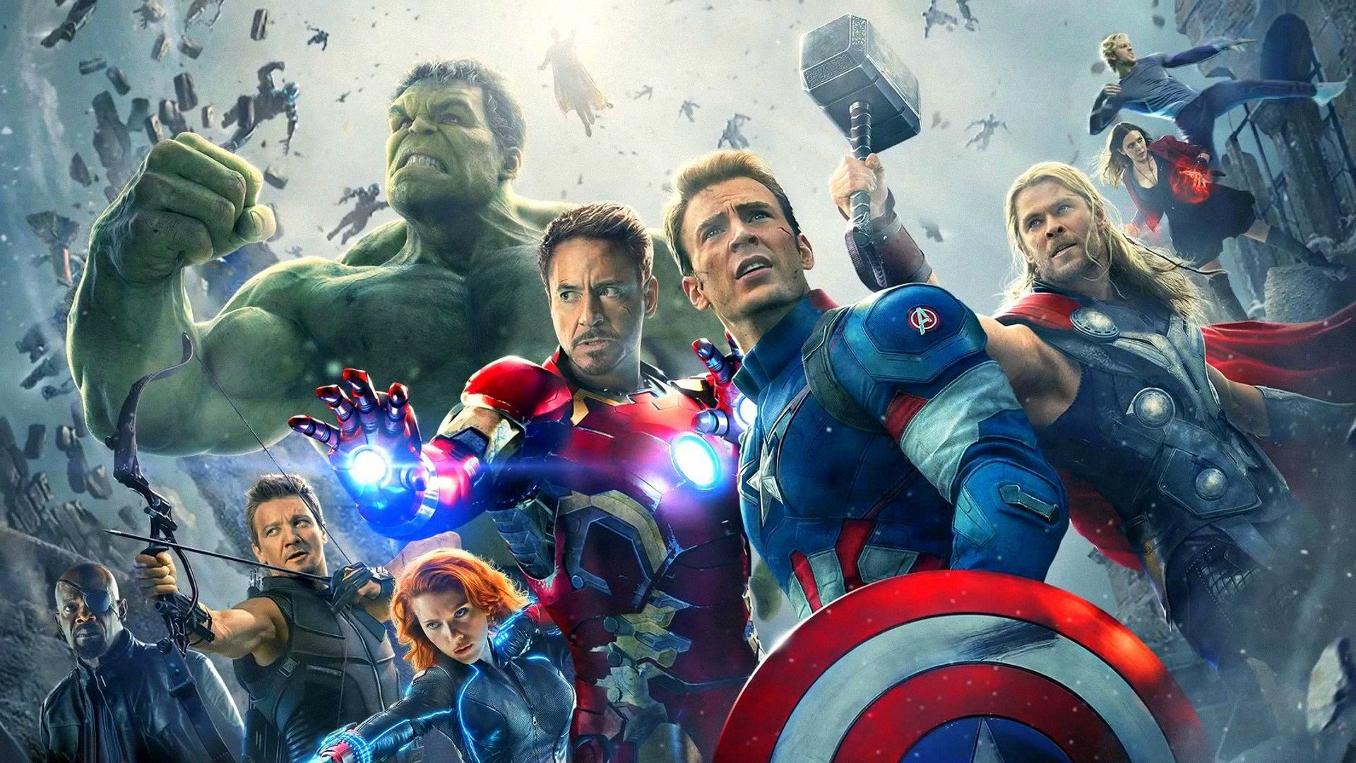 High Resolution Avengers Age Of Ultron Full Hd 1080p Wallpaper Id