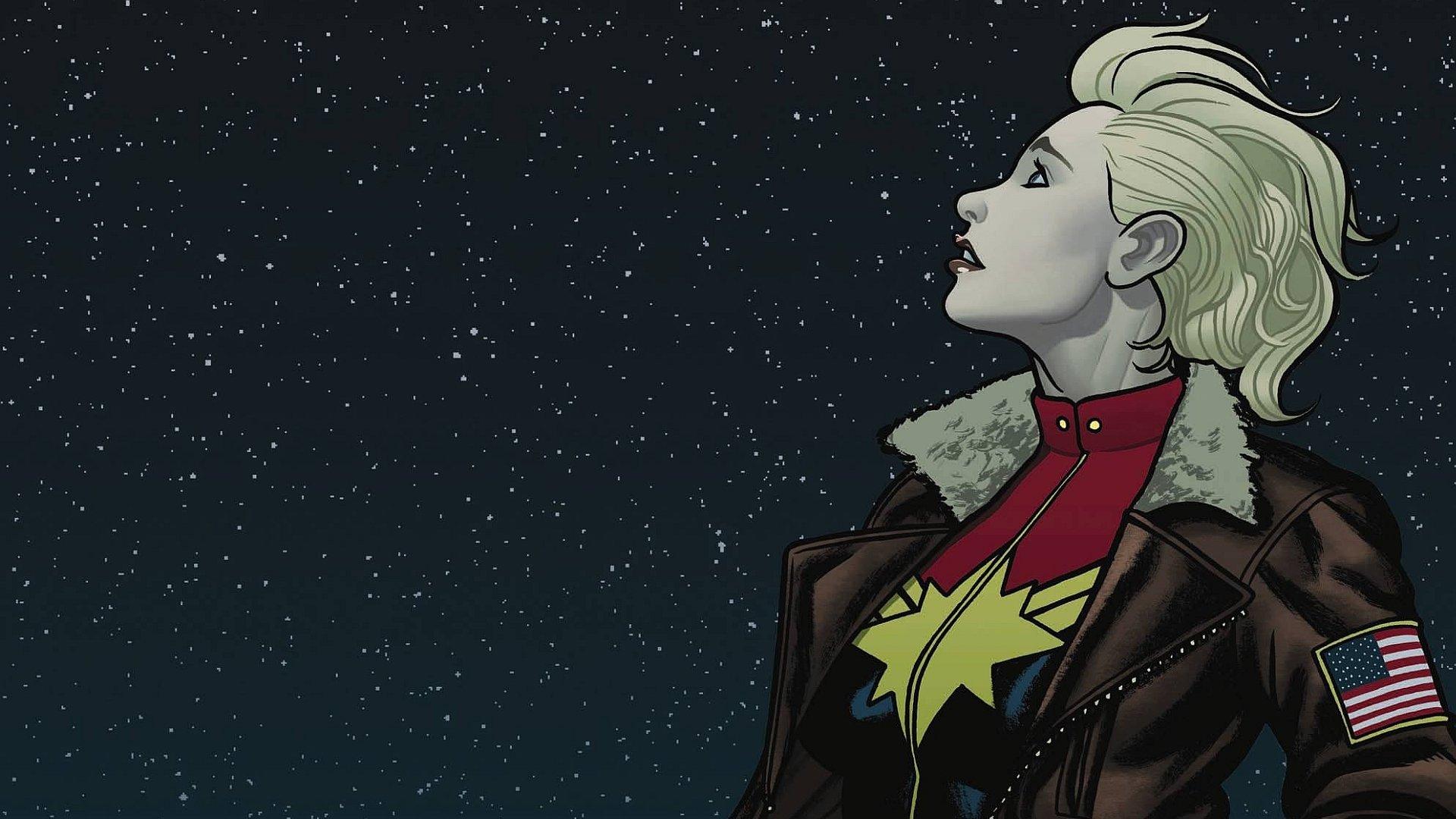 Captain Marvel HD Backgrounds For 1920x1080 Full 1080p Desktop