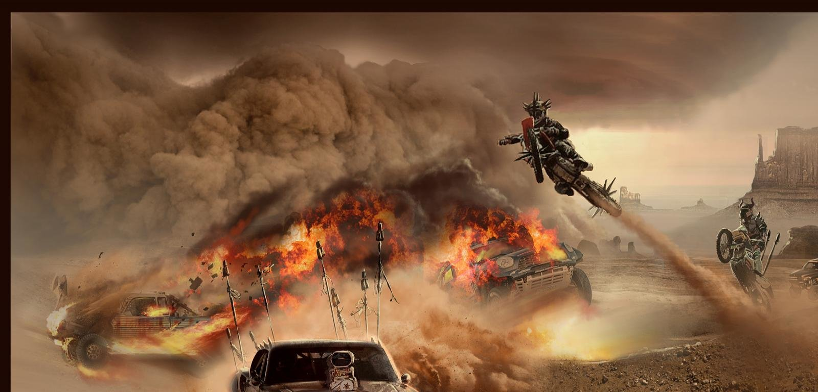 Download Hd 1600x768 Mad Max Fury Road Computer Wallpaper Id137470