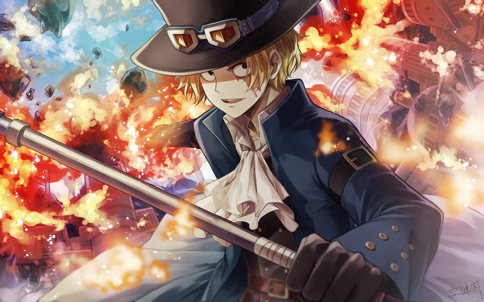Awesome Sabo (One Piece) free background ID:313935 for hd 1920x1200 PC