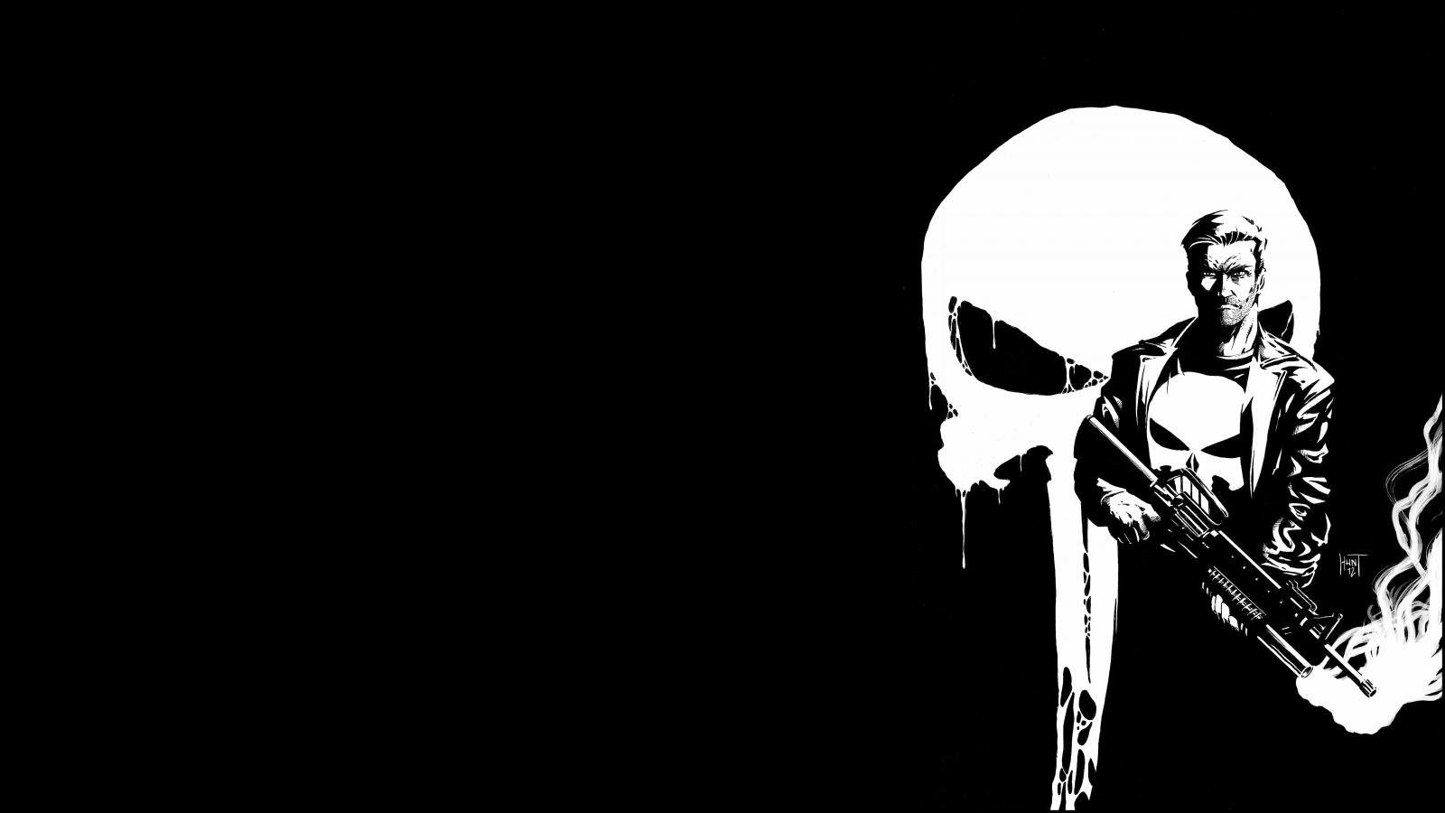 Free Download The Punisher Wallpaper Id 134607 Hd 1600x900 For Desktop