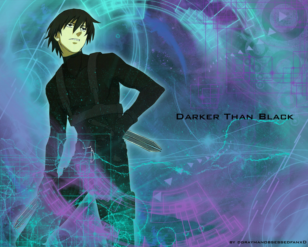 High resolution Darker Than Black hd 1280x1024 wallpaper ID:110172 for PC