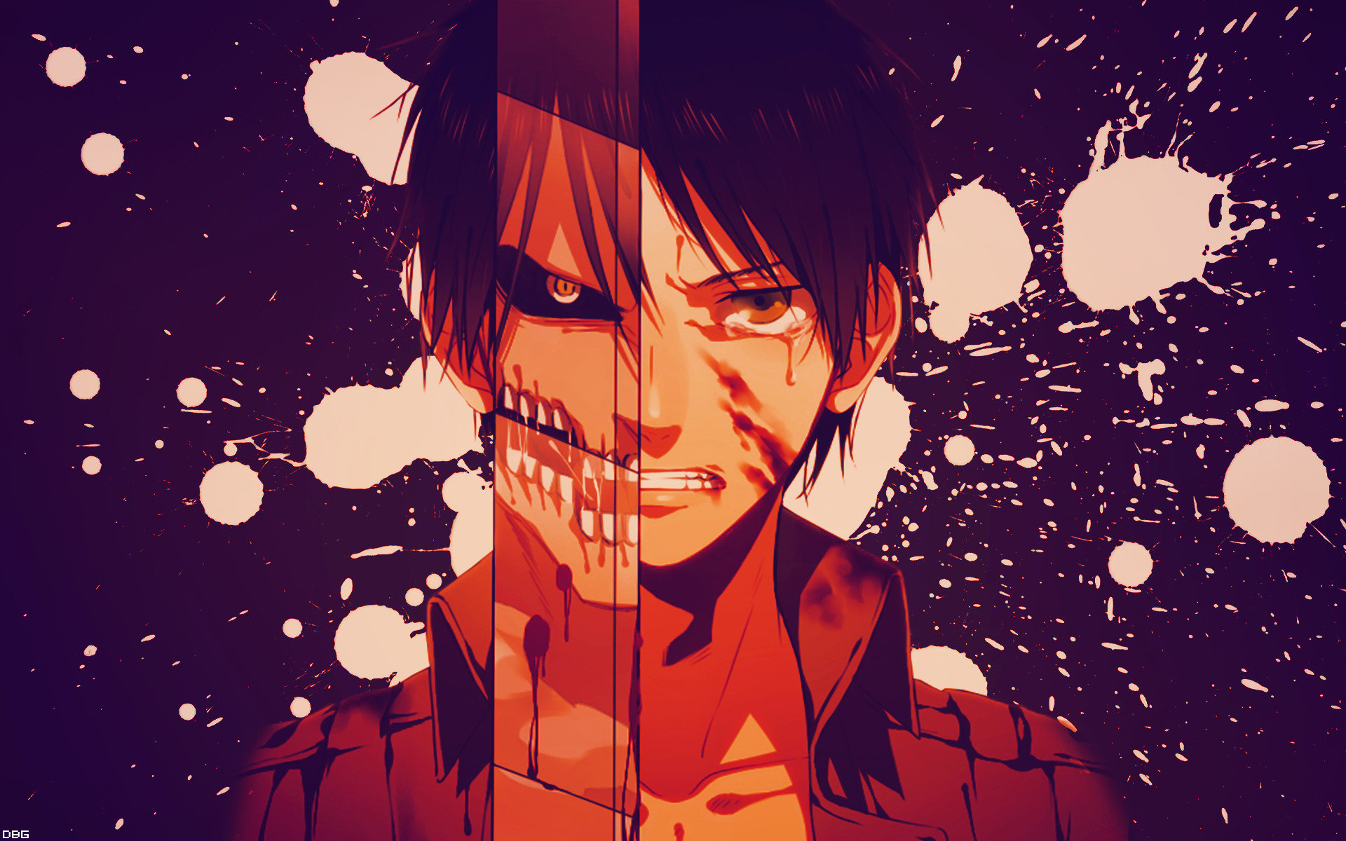 High resolution Eren Yeager hd 1920x1200 background ID:206006 for PC