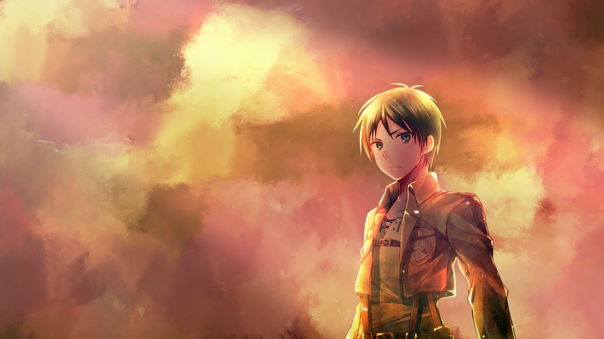 Download Full Hd 1920x1080 Eren Yeager Computer Wallpaper Id 206256 For Free
