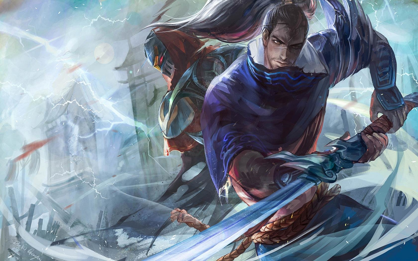Yasuo League Of Legends Wallpapers 1680x1050 Desktop Backgrounds