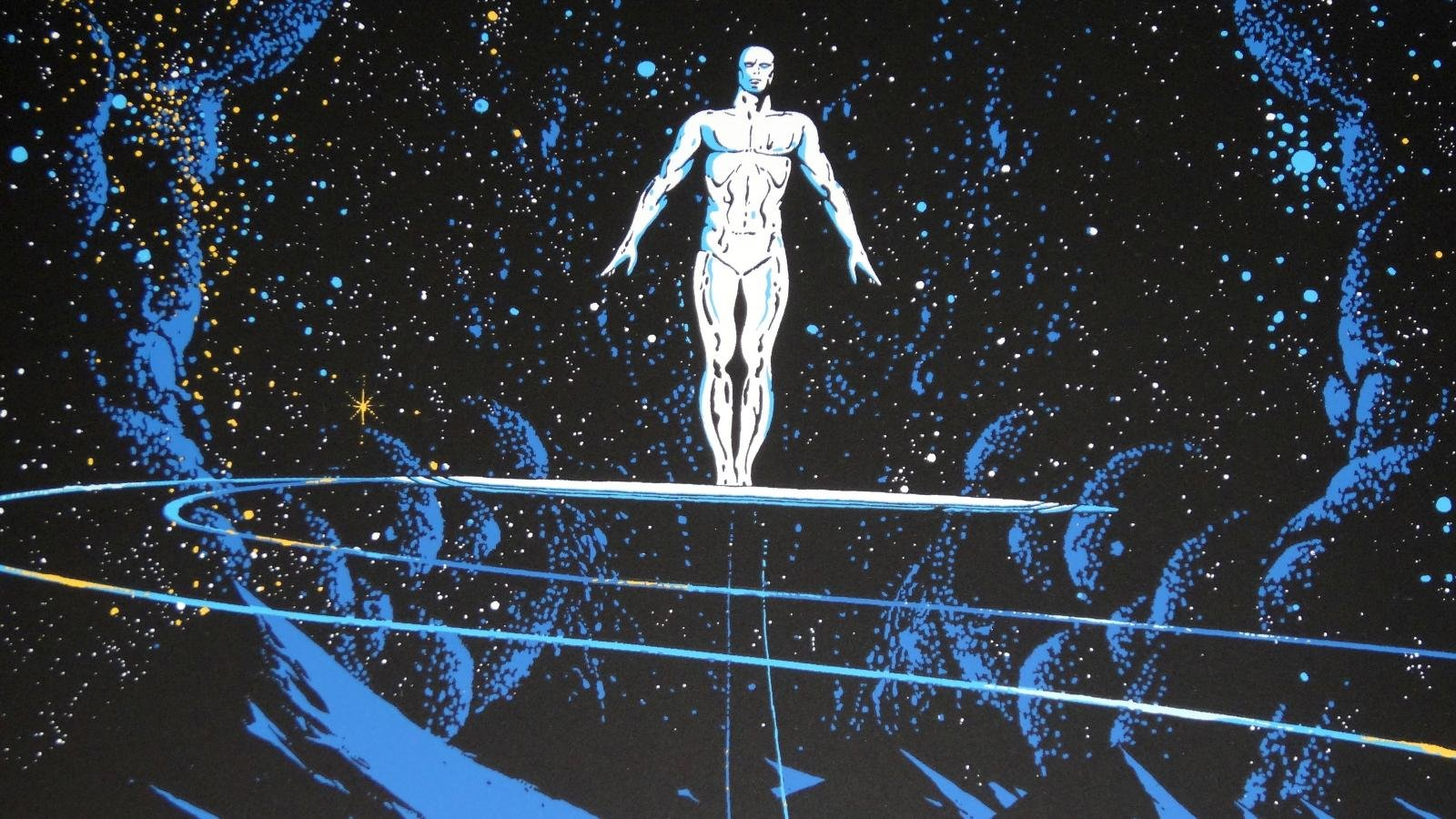 Free Download Silver Surfer Background Id 165174 Hd 1600x900 For Pc