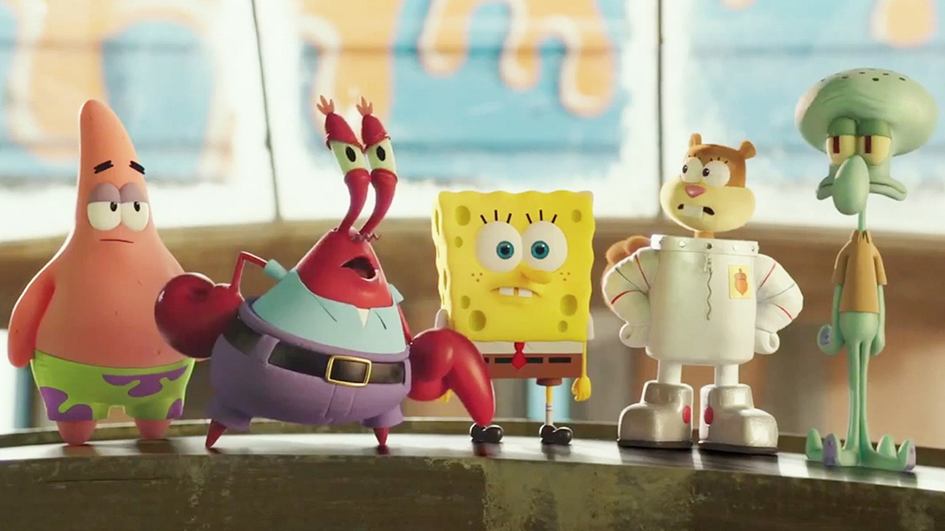 High Resolution The Spongebob Movie Sponge Out Of Water Full Hd