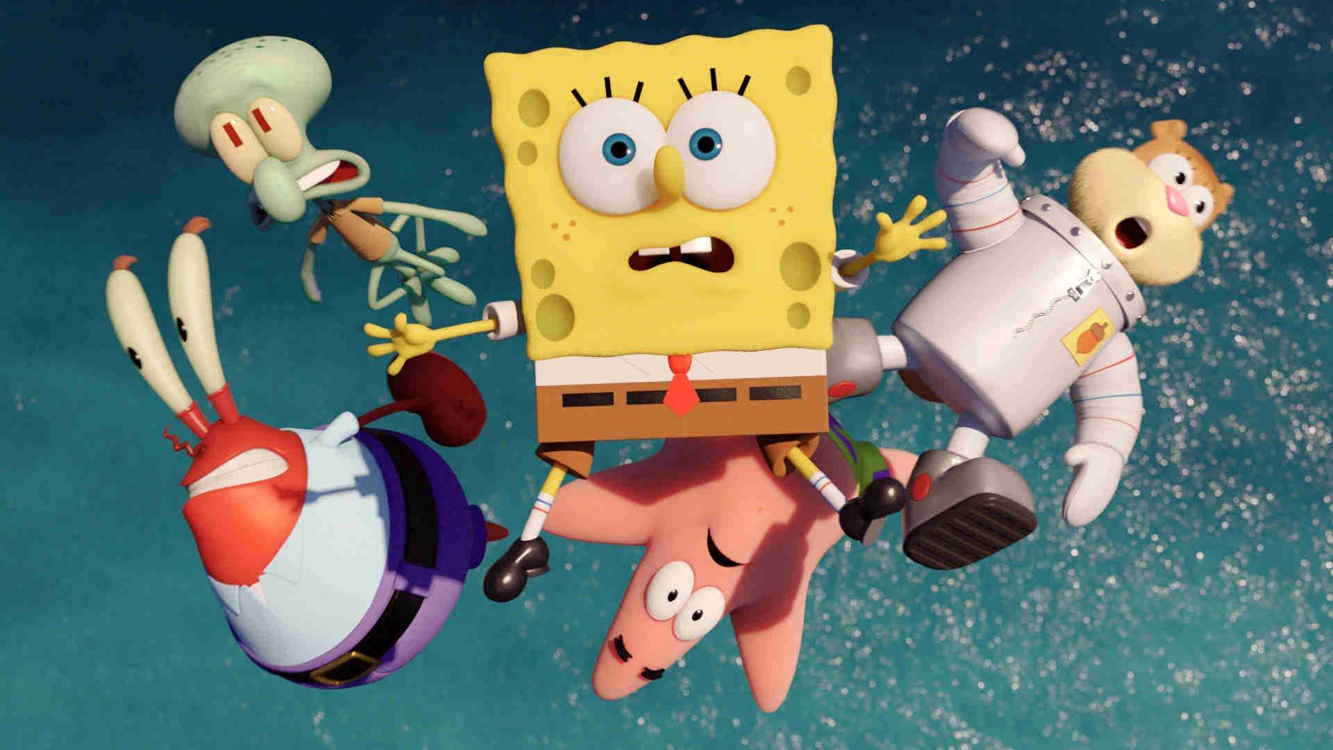 Best The Spongebob Movie Sponge Out Of Water Wallpaper Id 465950