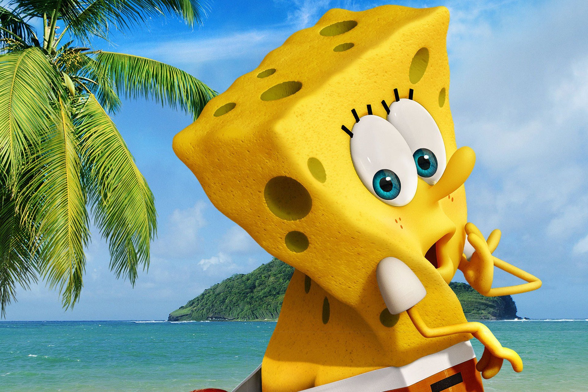 Awesome The Spongebob Movie Sponge Out Of Water Free Wallpaper Id