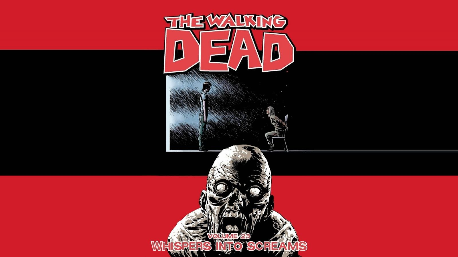Awesome Walking Dead Comics Free Wallpaper Id 84264 For Hd 1600x900 Pc