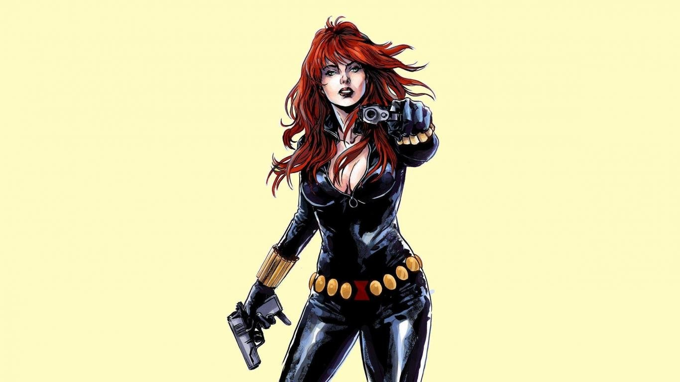 Best Black Widow background ID:278352 for High Resolution hd 1366x768 computer