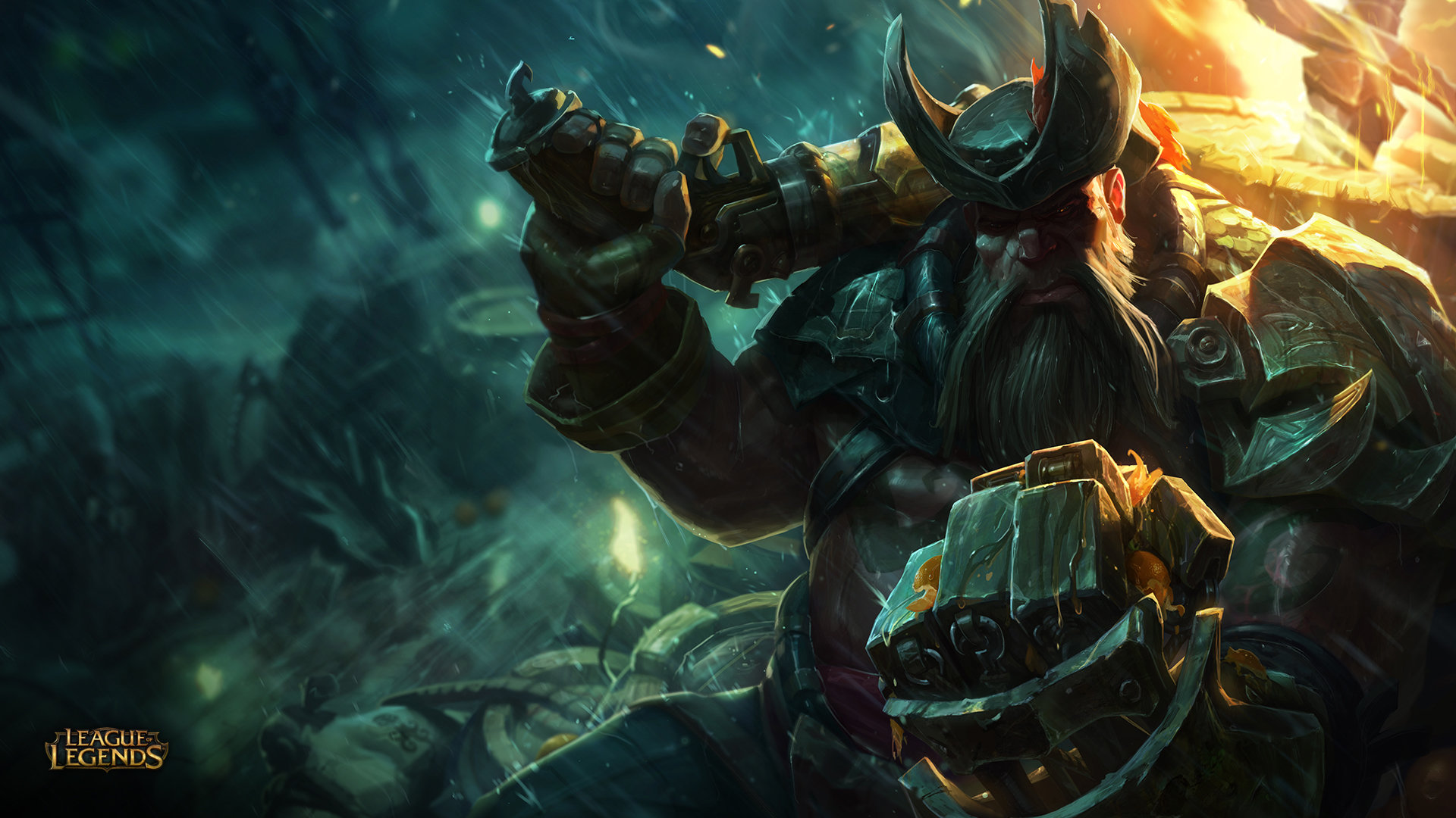 Free Gangplank (League Of Legends) high quality wallpaper ID:171877 for hd 1080p. 1920x1080