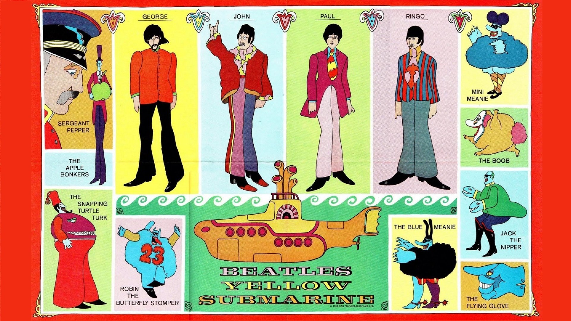 Yellow Submarine Wallpapers Hd For Desktop Backgrounds