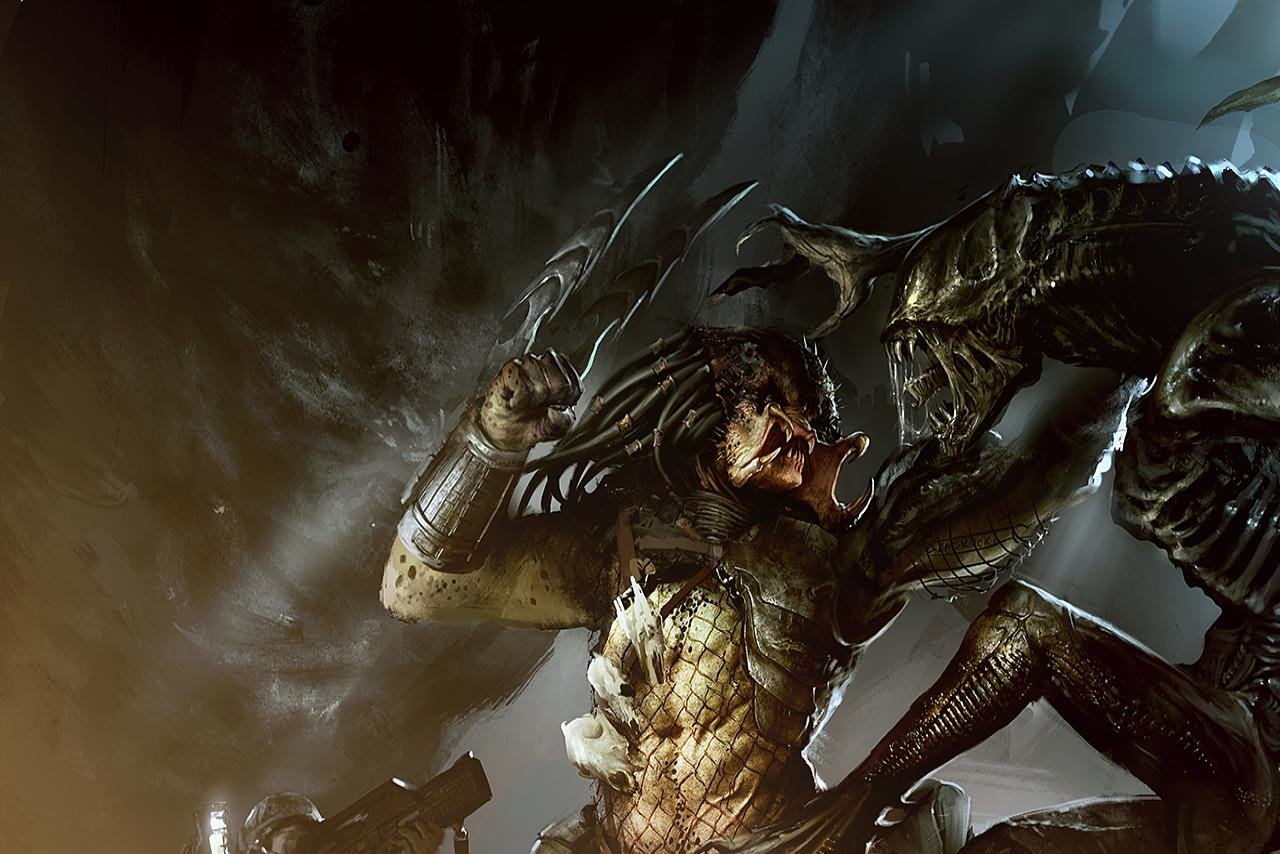 Alien Vs Predator Hd Wallpapers: Aliens Vs. Predator Wallpapers HD For Desktop Backgrounds