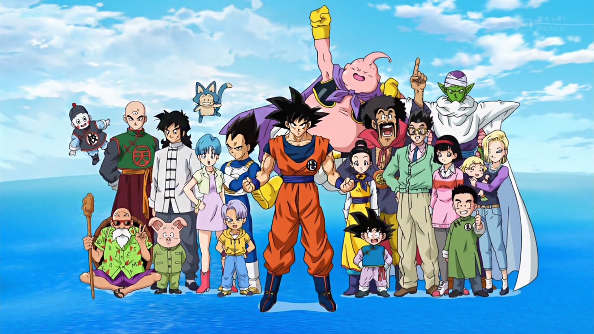 Download full hd 1920x1080 Dragon Ball Super computer wallpaper ID:242414 for free