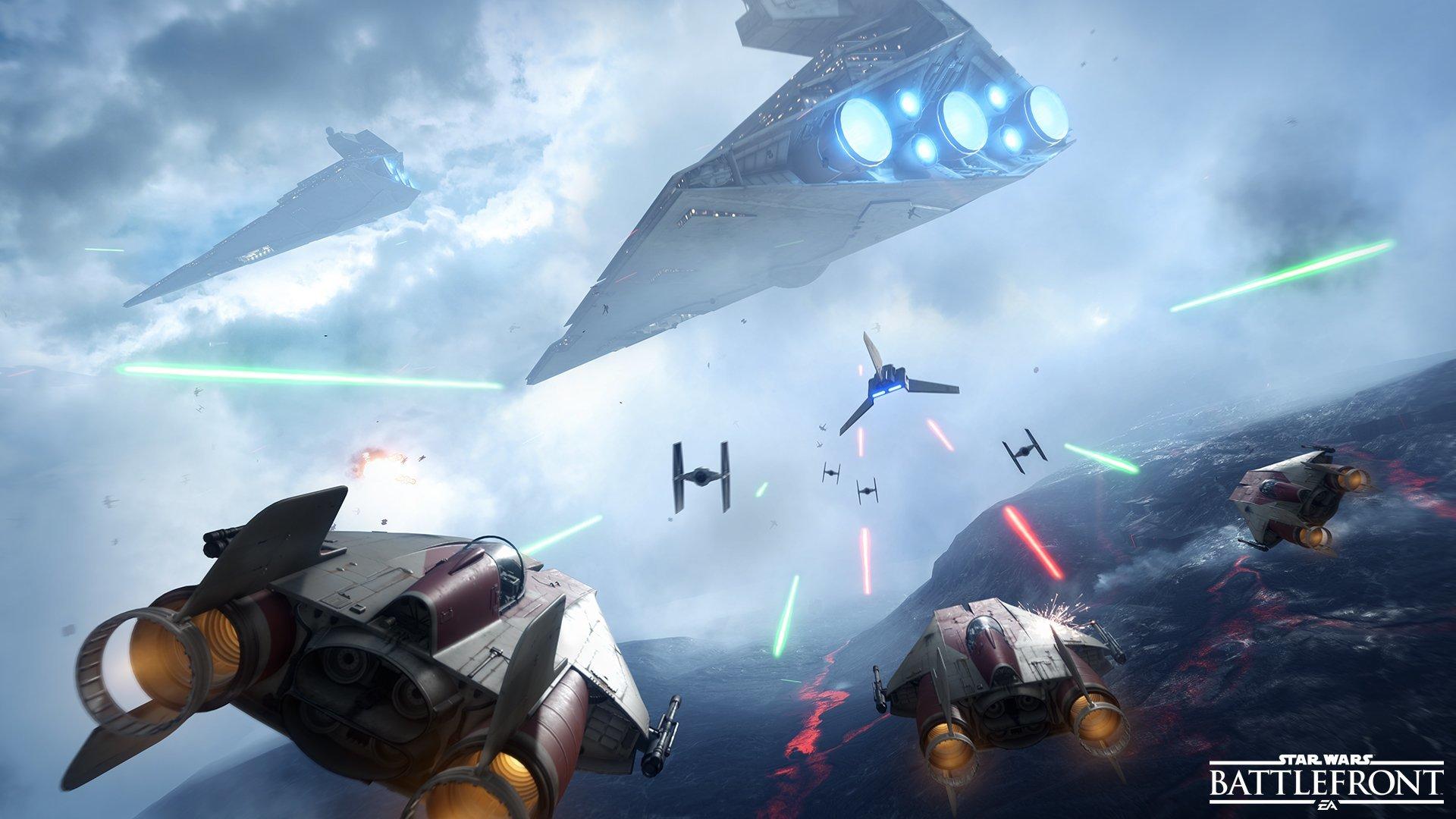 Star Wars Battlefront Wallpapers Hd For Desktop Backgrounds