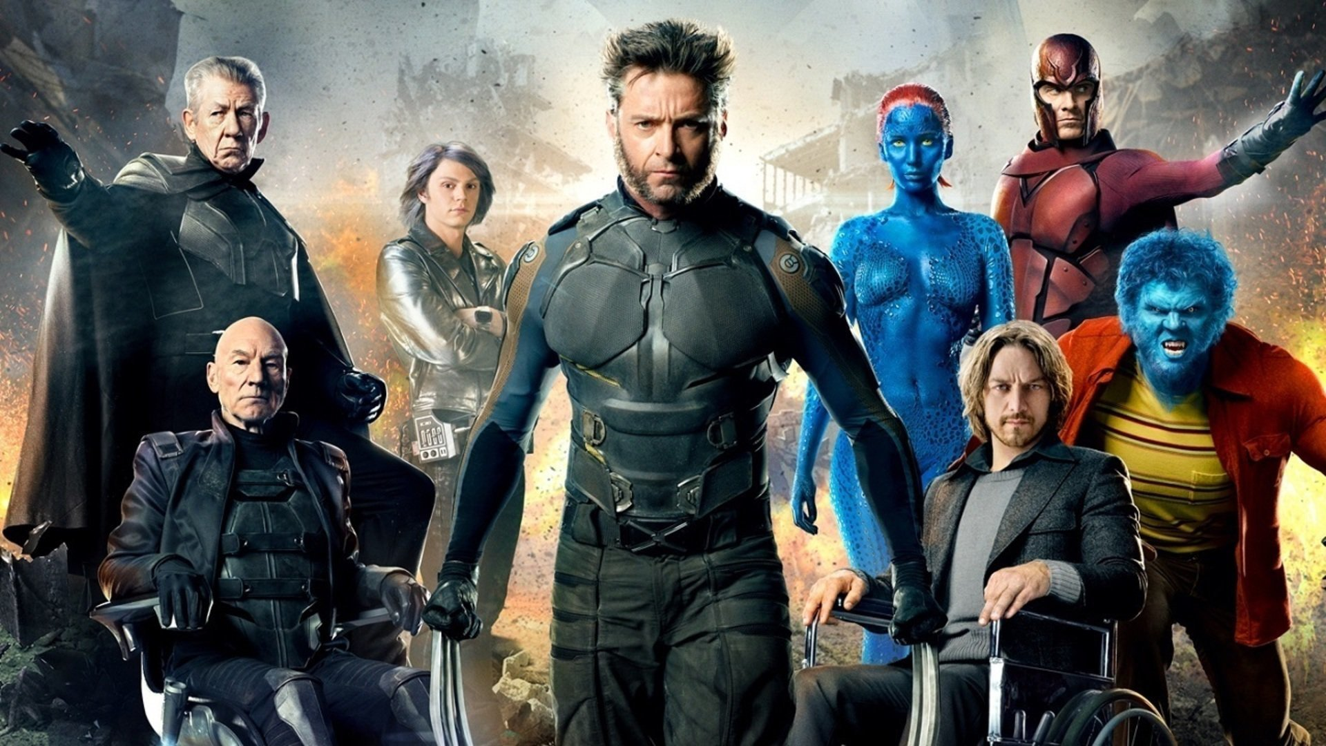 Free Download X Men Days Of Future Past Wallpaper Id 8450 1080p For Pc