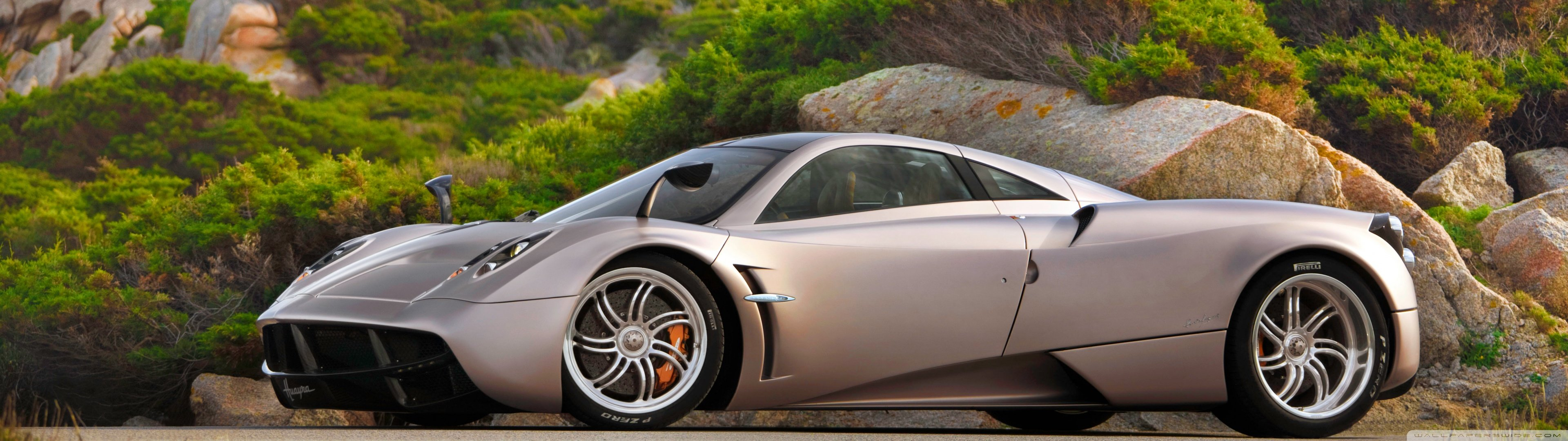 Best Pagani Huayra Background ID:160200 For High Resolution Dual Monitor  3840x1080 Desktop