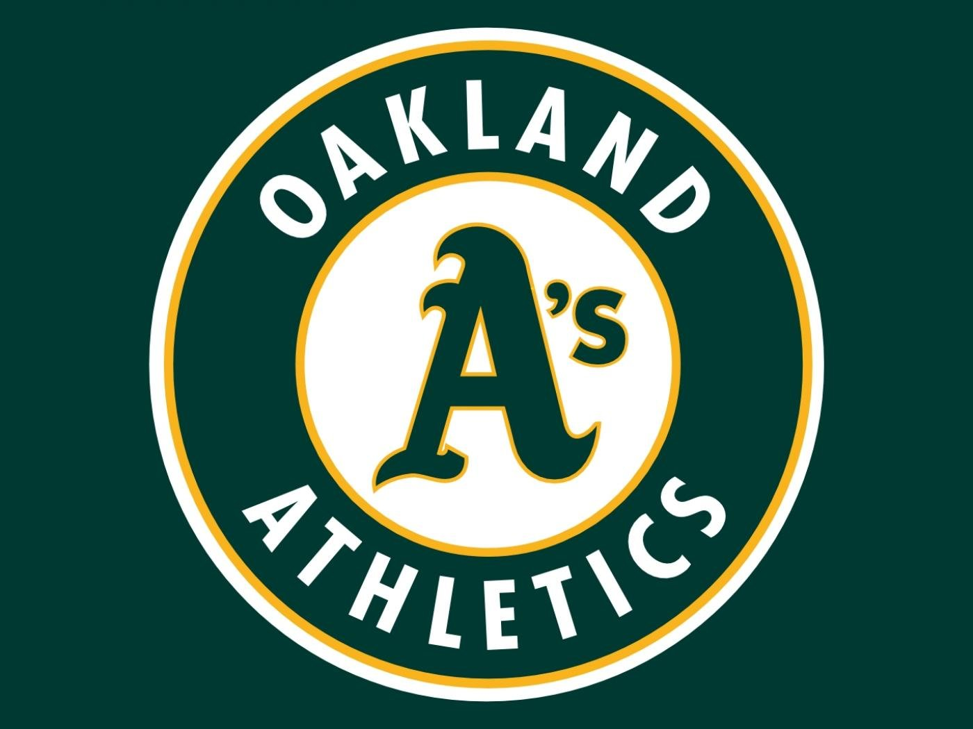 Download hd 1400x1050 Oakland Athletics computer background ID:310464 for free