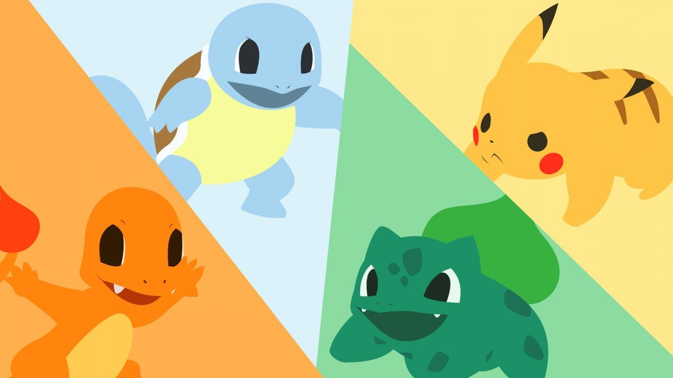 Download 1366x768 Laptop Pokemon PC Wallpaper ID280117 For Free