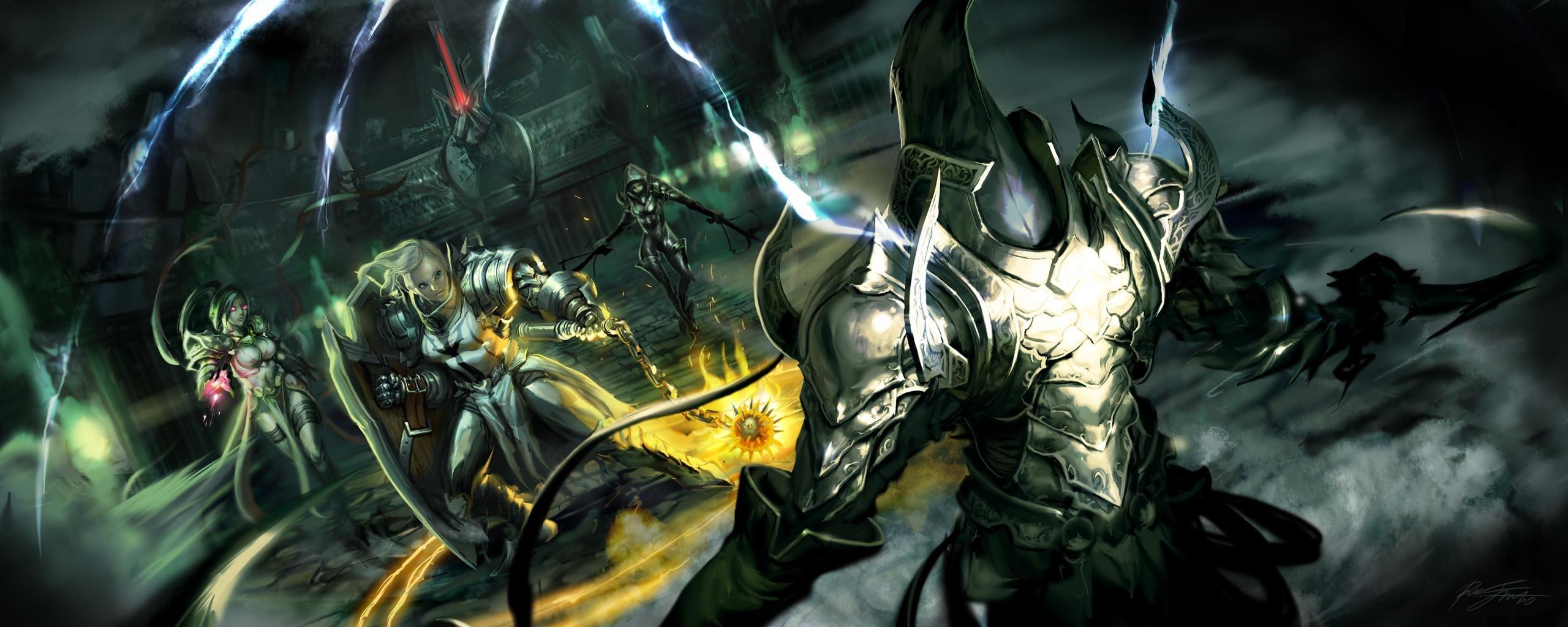 Demon Hunter Diablo 3  № 1892473 загрузить