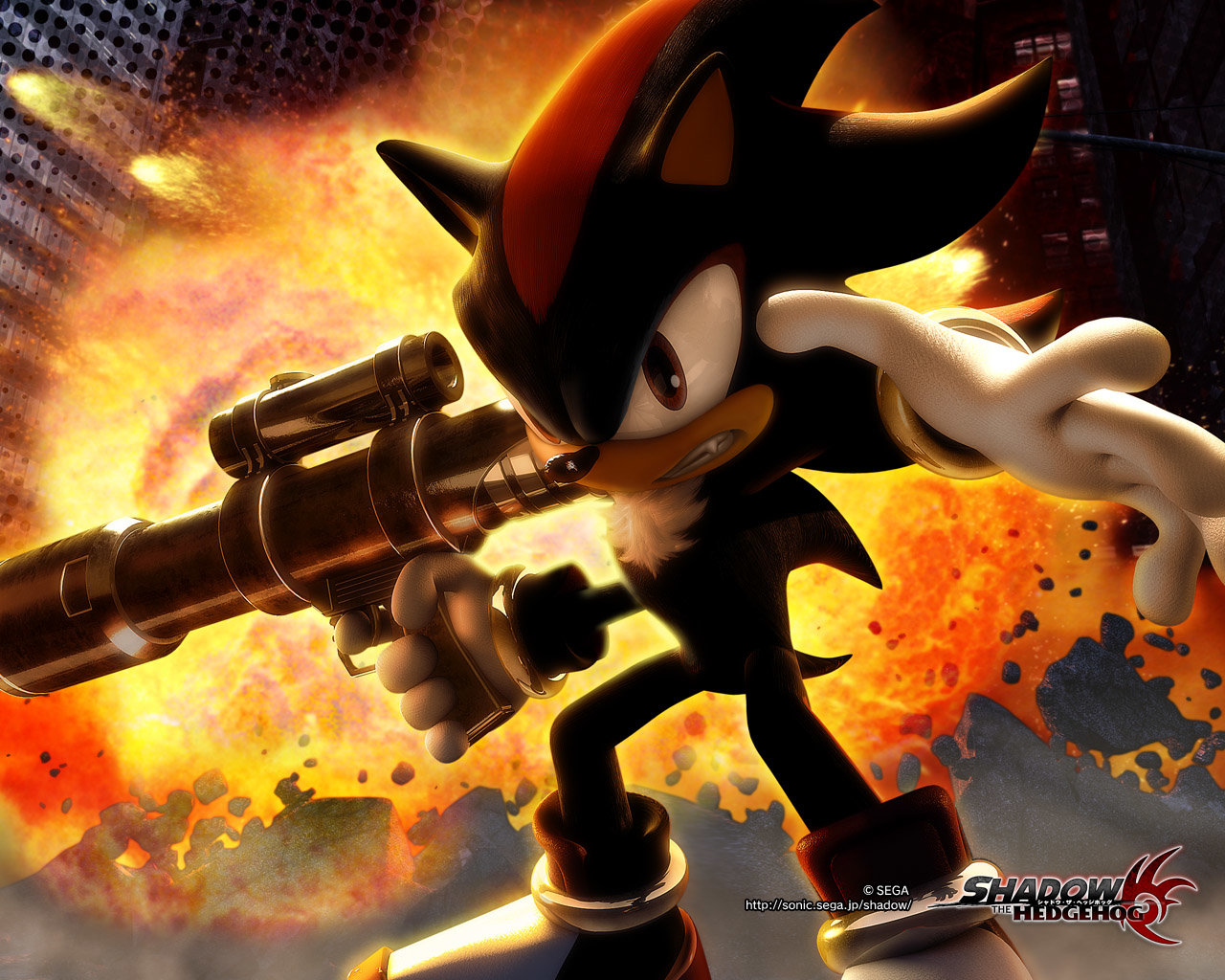 High resolution Shadow The Hedgehog hd 1280x1024 wallpaper ID:325424 for desktop