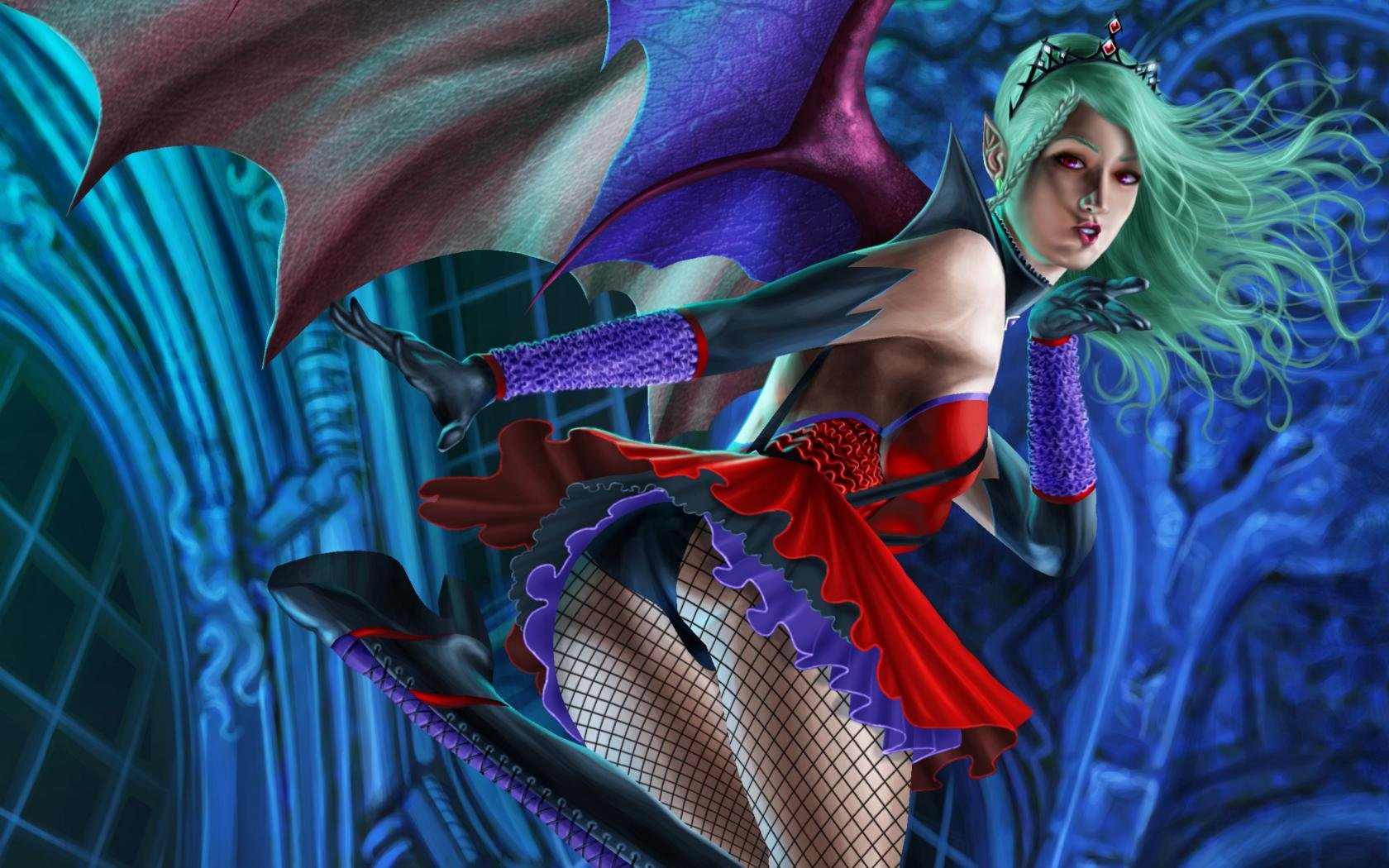 Free download Succubus background ID:56626 hd 1680x1050 for desktop