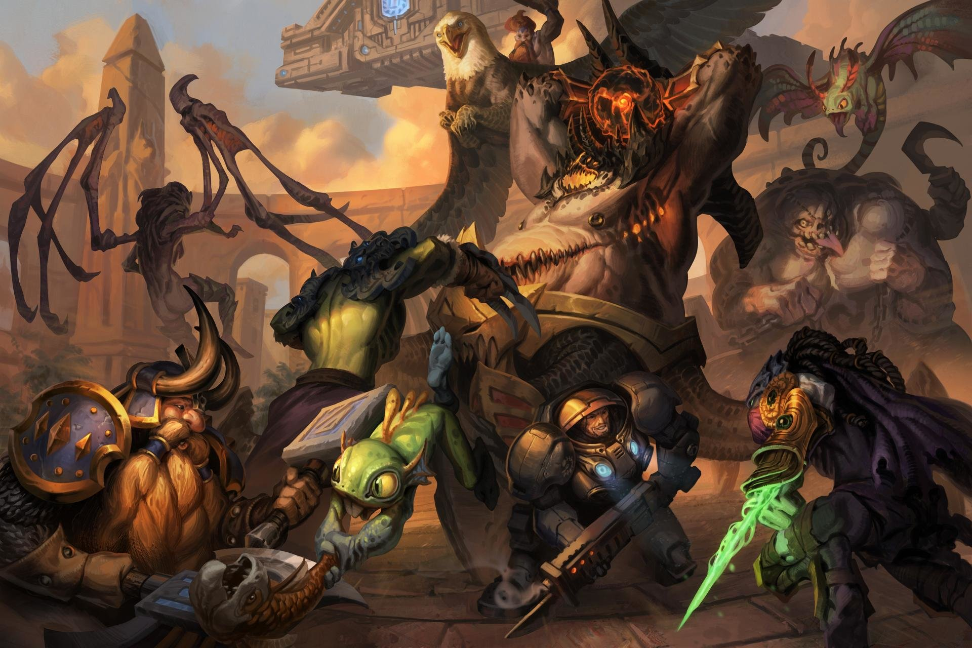 Free Heroes Of The Storm High Quality Wallpaper Id 259845 For Hd