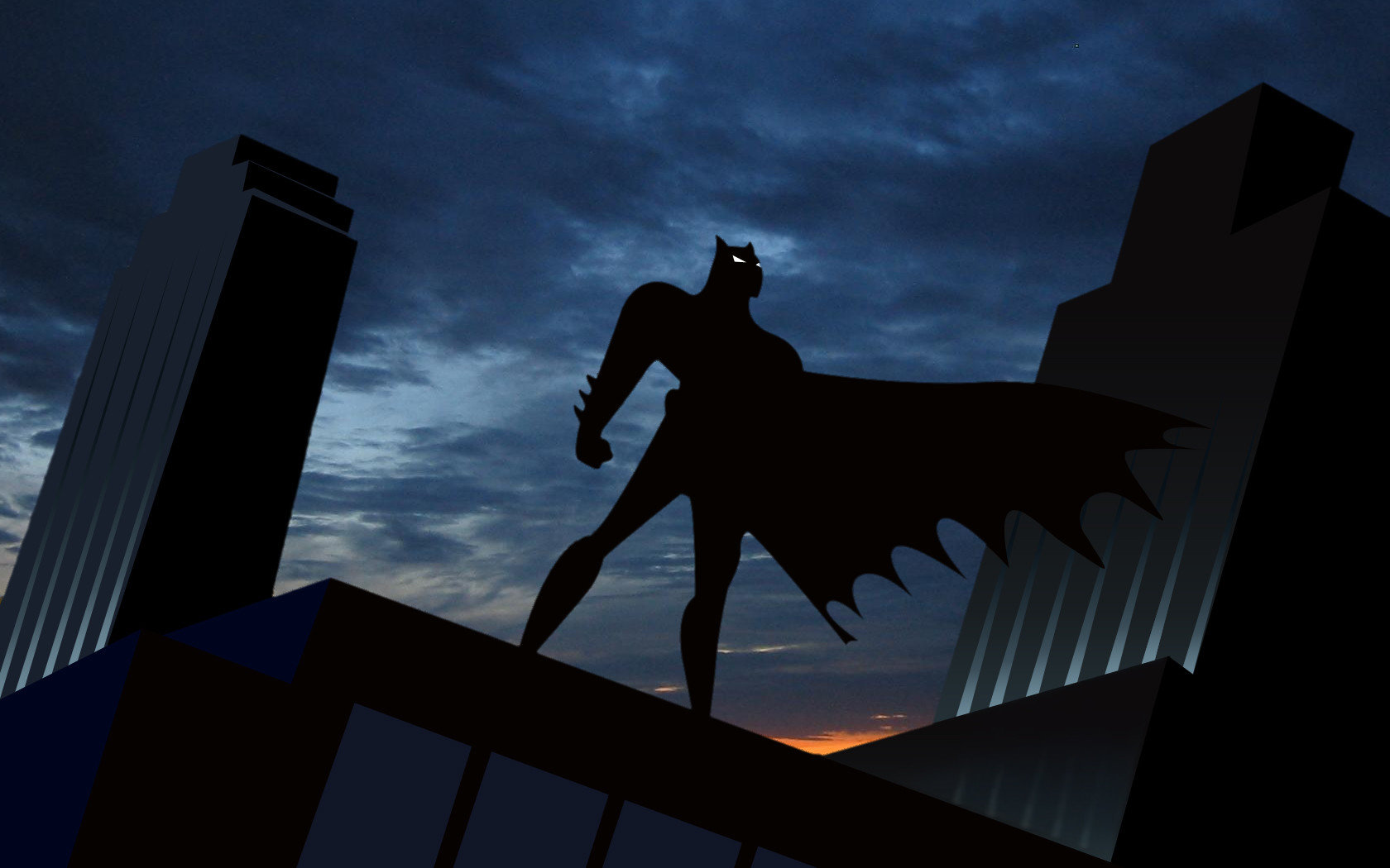 Batman The Animated Series Wallpapers 1680x1050 Desktop