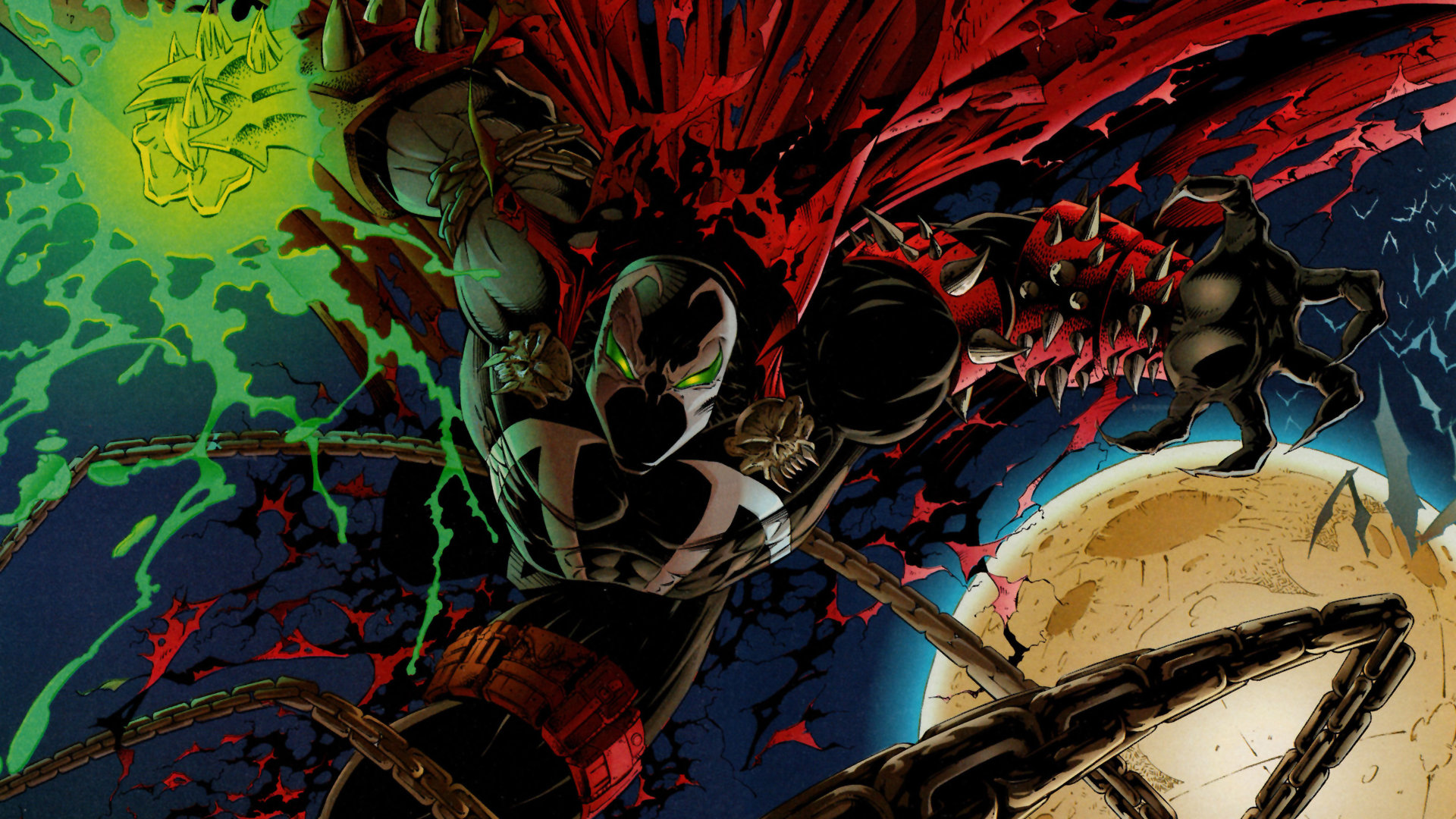 Best Spawn Wallpaper Id113906 For High Resolution Hd 1080p Pc