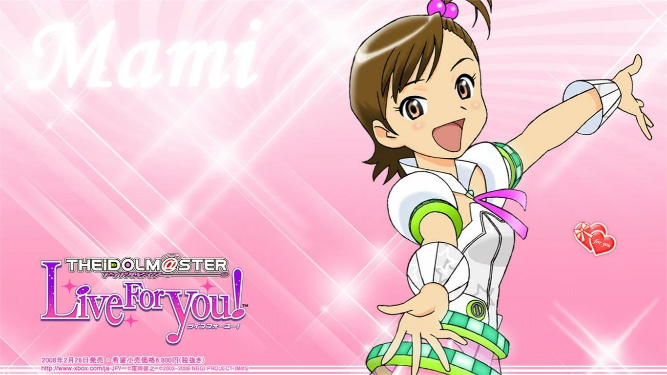 Awesome IDOLM@STER free wallpaper ID:82072 for laptop PC