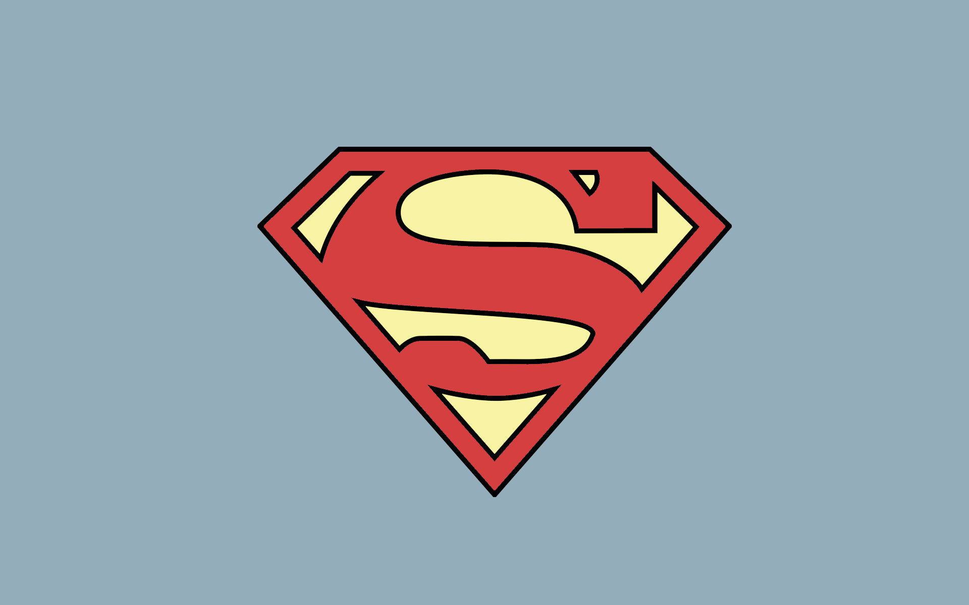 Awesome Superman Logo free wallpaper ID:456257 for hd 1920x1200 PC