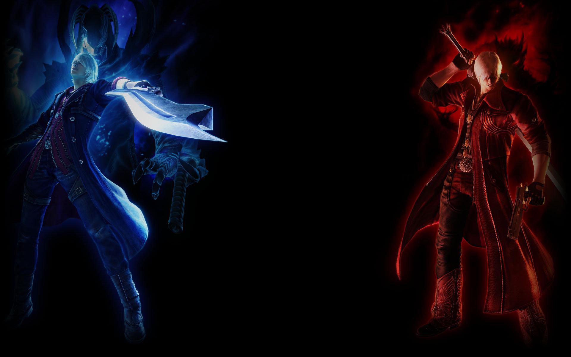 Devil May Cry 4 Wallpaper: Devil May Cry 4 Wallpapers HD For Desktop Backgrounds