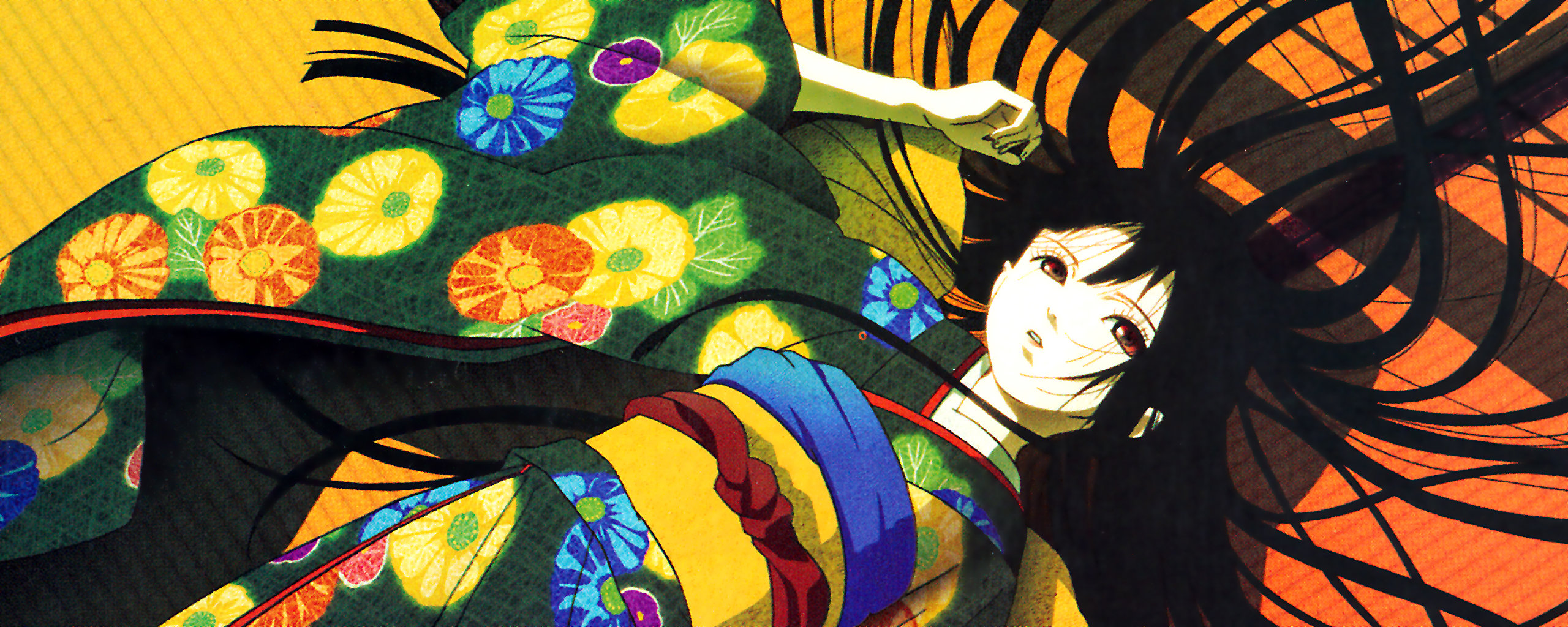 Awesome Jigoku Shojo free wallpaper ID:353925 for dual screen 2560x1024 desktop