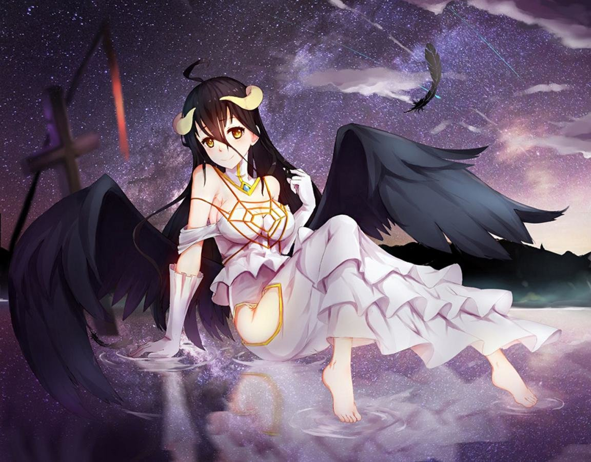 Free download Albedo (Overlord) wallpaper ID:275958 hd 1152x900 for desktop