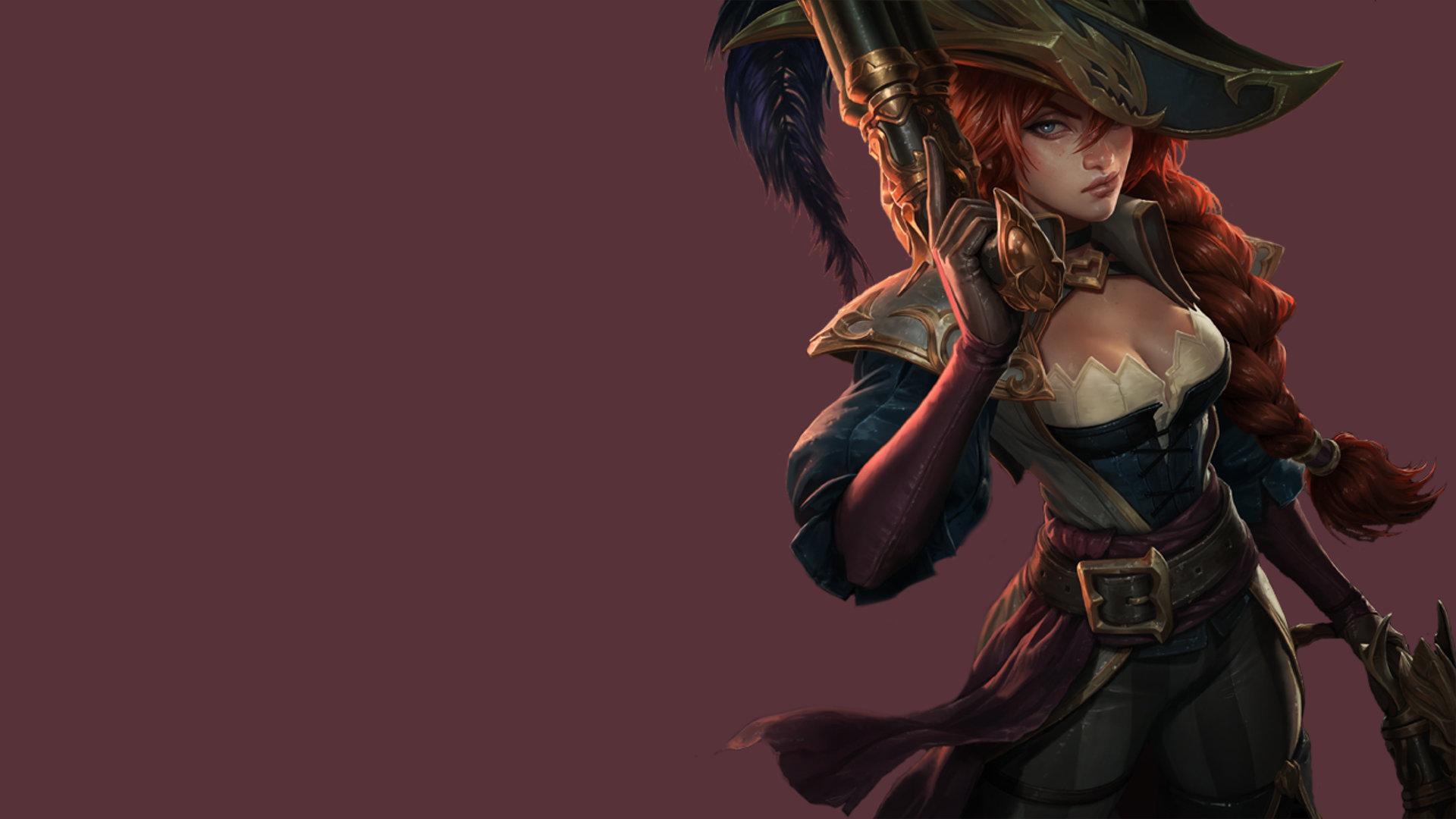 League Of Legends Miss Fortune Wallpaper: Miss Fortune (League Of Legends) Wallpapers HD For Desktop