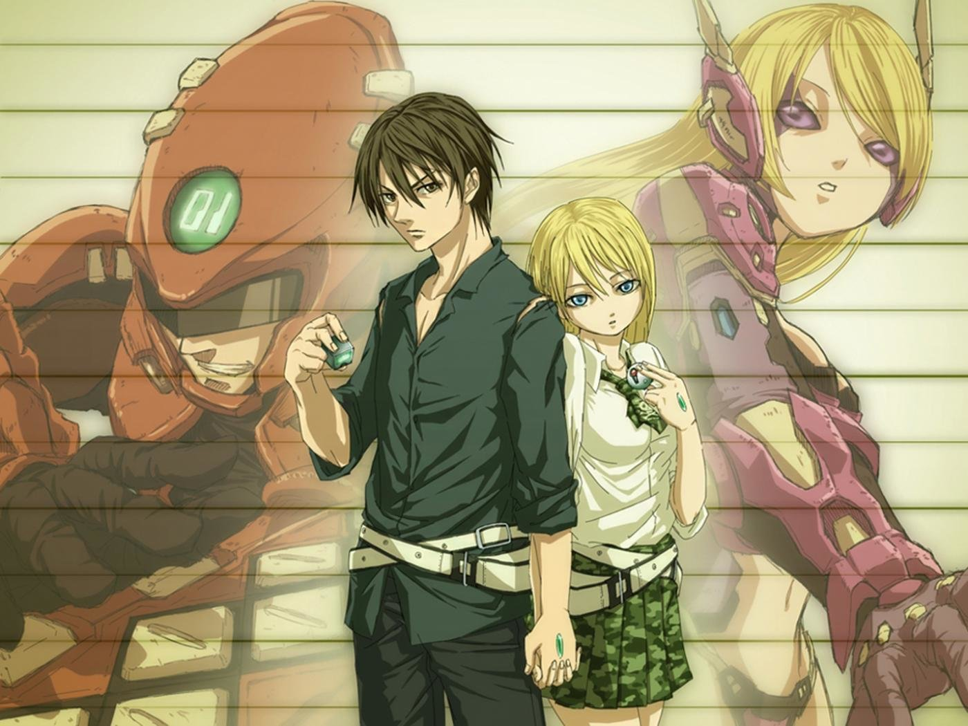 Awesome Btooom! free background ID:358288 for hd 1400x1050 computer