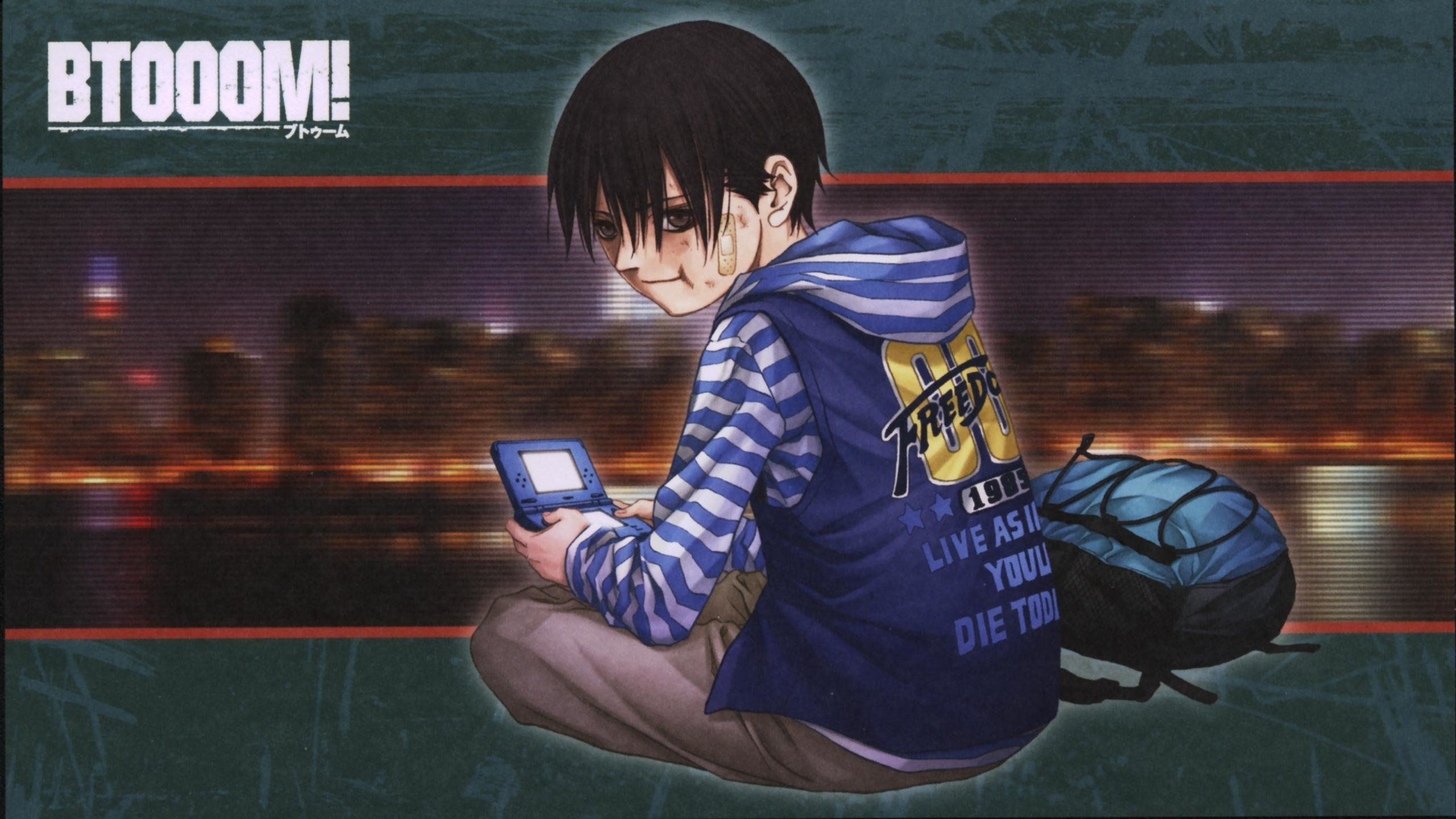 Awesome Btooom! free wallpaper ID:358271 for hd 2560x1440 desktop