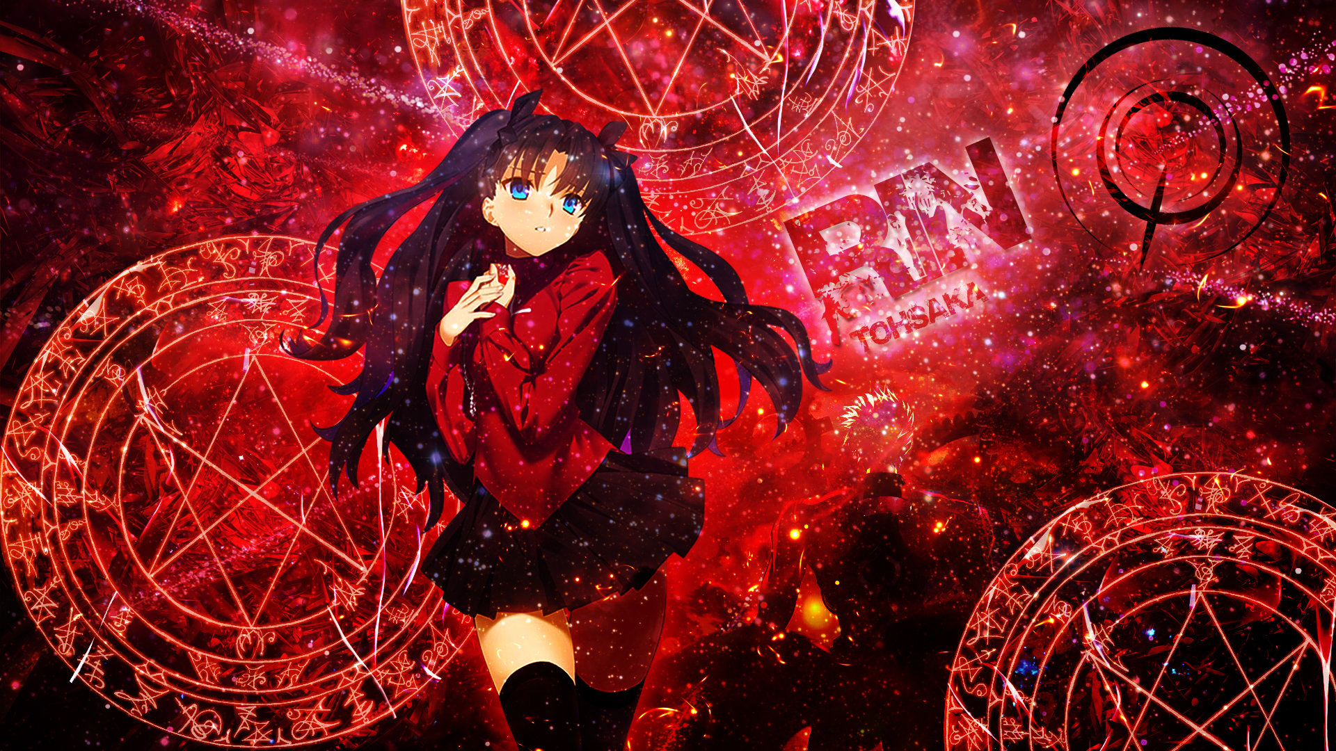 Free Fate/Stay Night: Unlimited Blade Works high quality background ID:291071 for full hd 1080p desktop