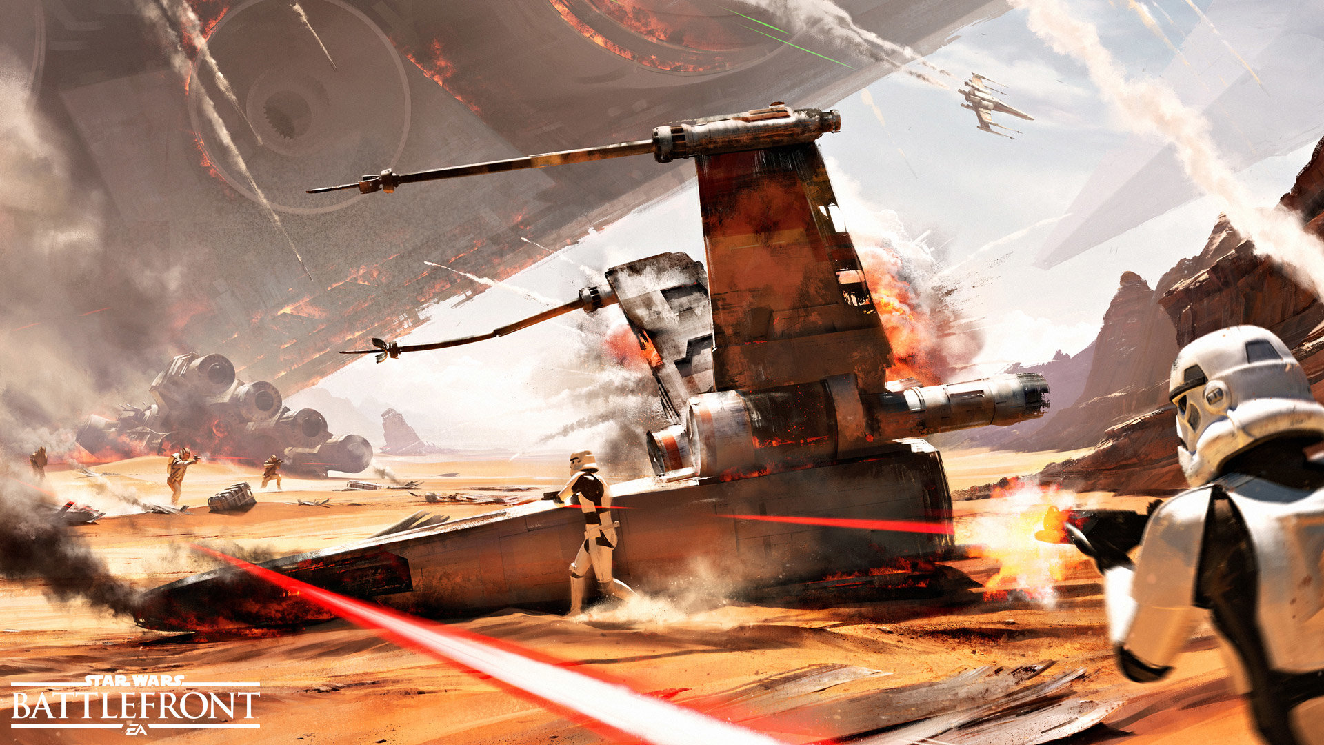 Awesome Star Wars Battlefront Free Wallpaper Id162458 For 1080p Desktop