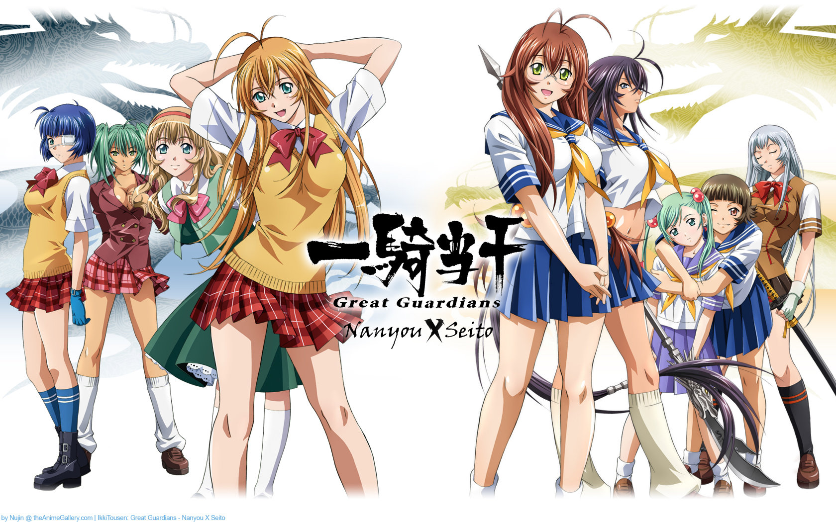 Free Ikki Tousen high quality background ID:126403 for hd 1680x1050 computer