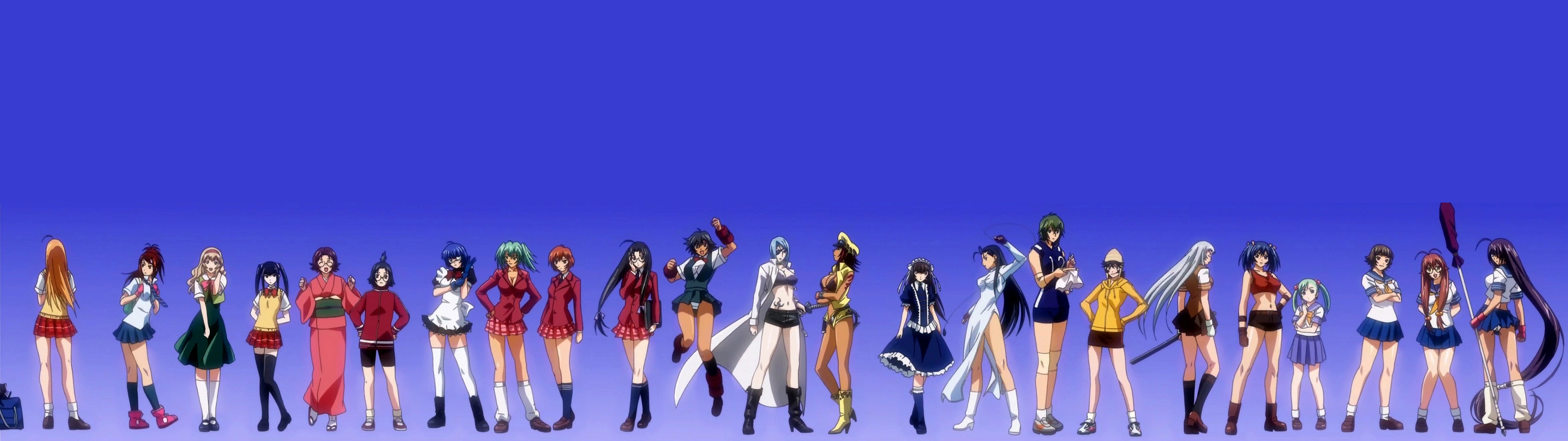 Free Ikki Tousen high quality wallpaper ID:126361 for dual screen 1920x1080 PC
