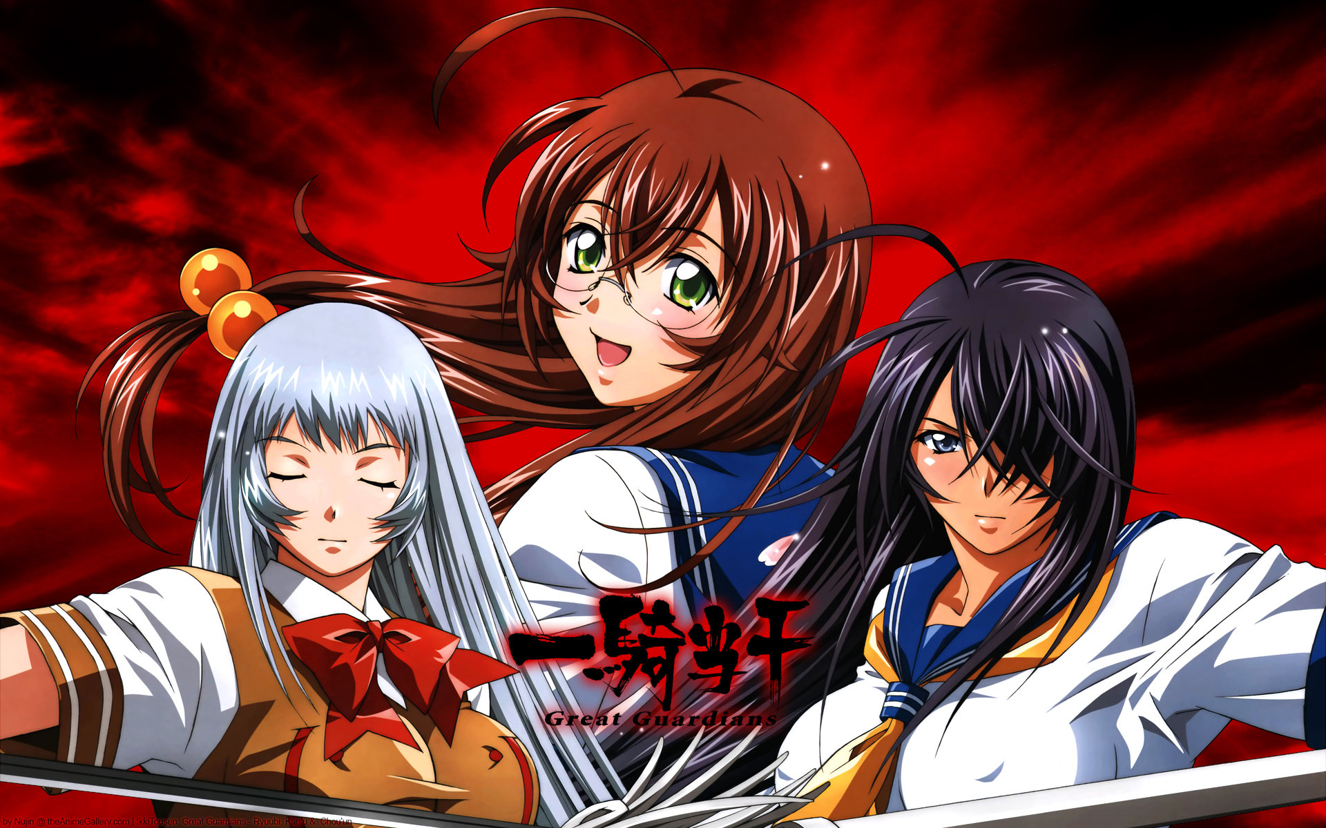 Awesome Ikki Tousen free wallpaper ID:126095 for hd 1920x1200 desktop