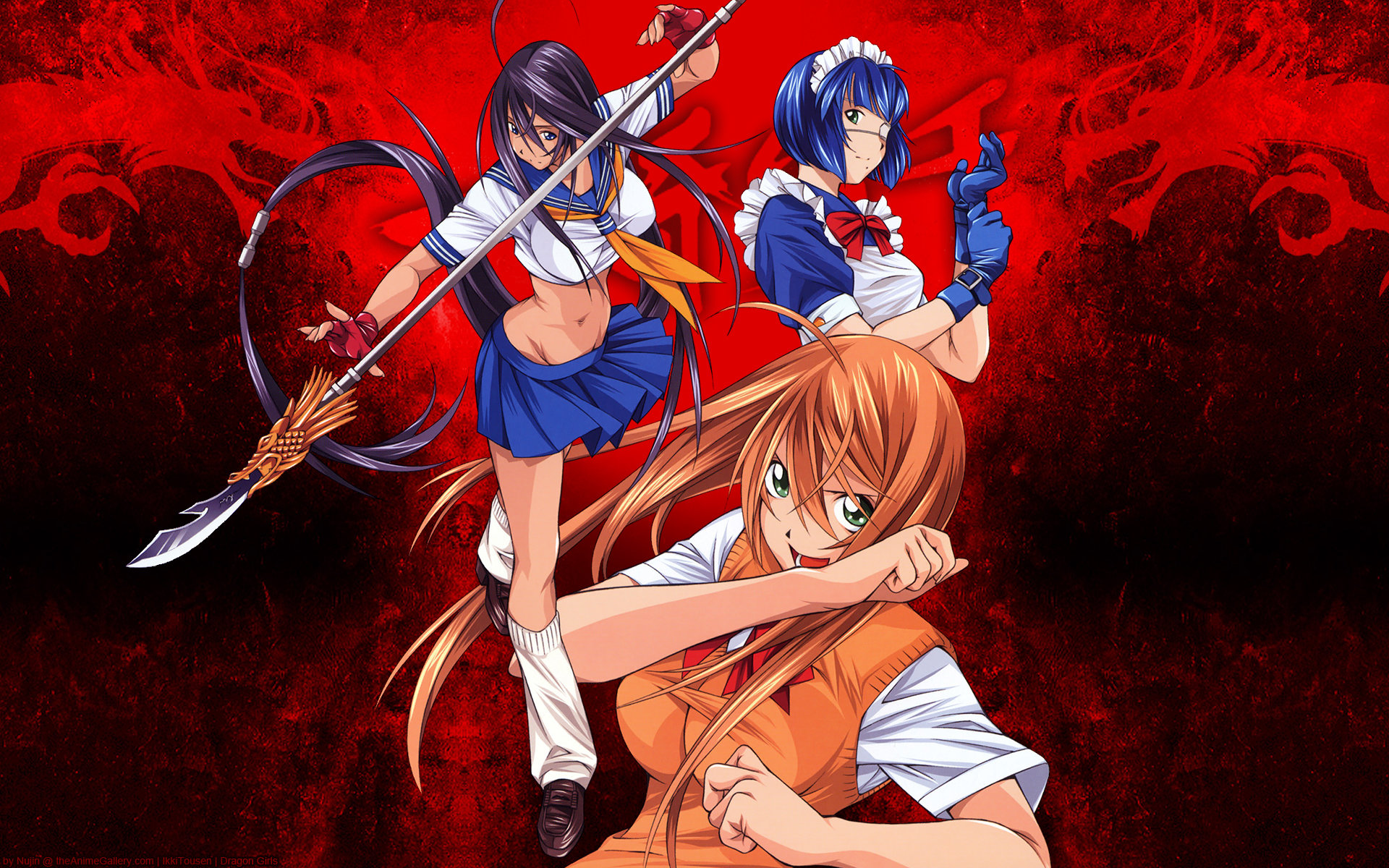Free download Ikki Tousen wallpaper ID:126196 hd 1920x1200 for desktop